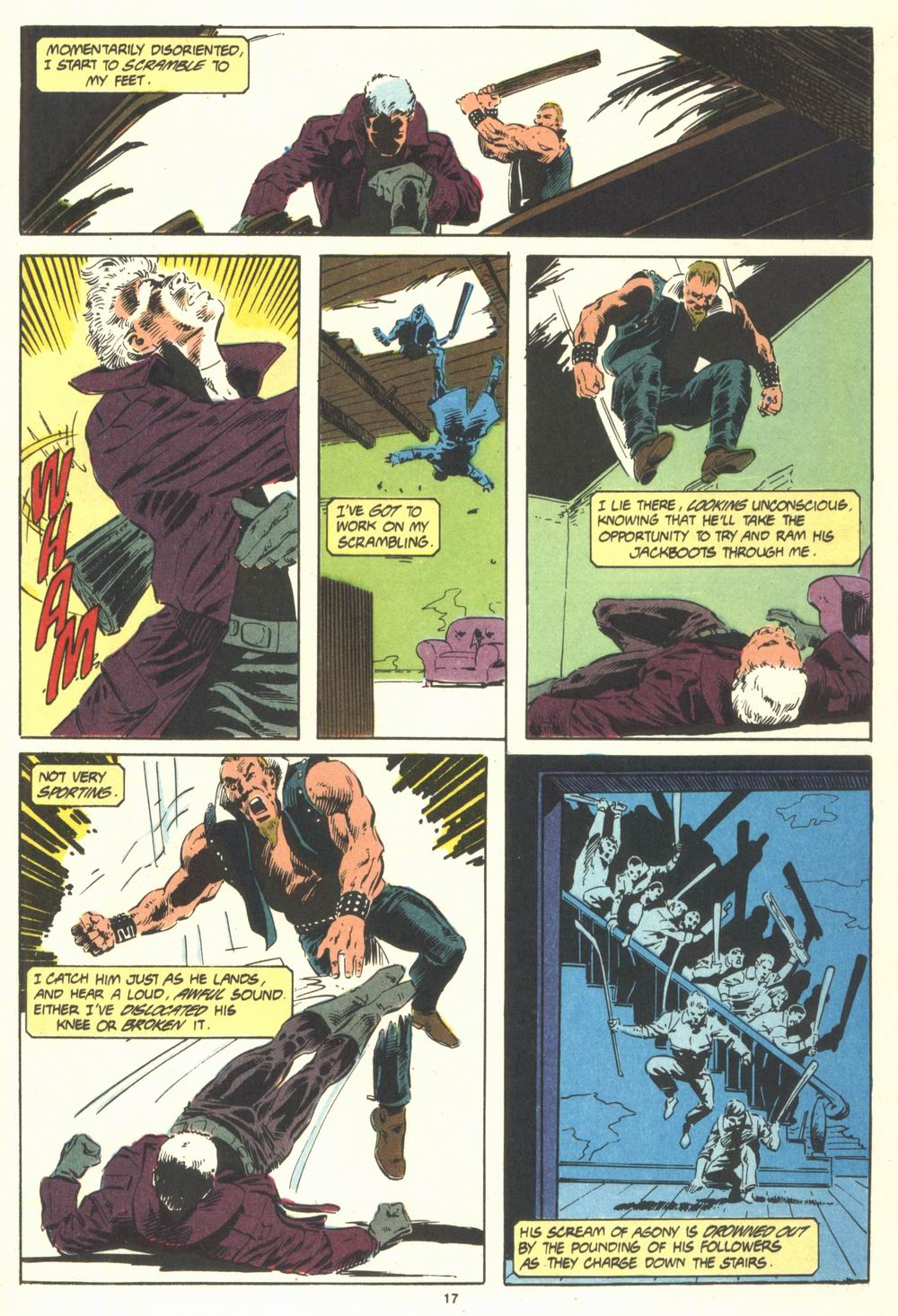 Read online Justice (1986) comic -  Issue #19 - 19