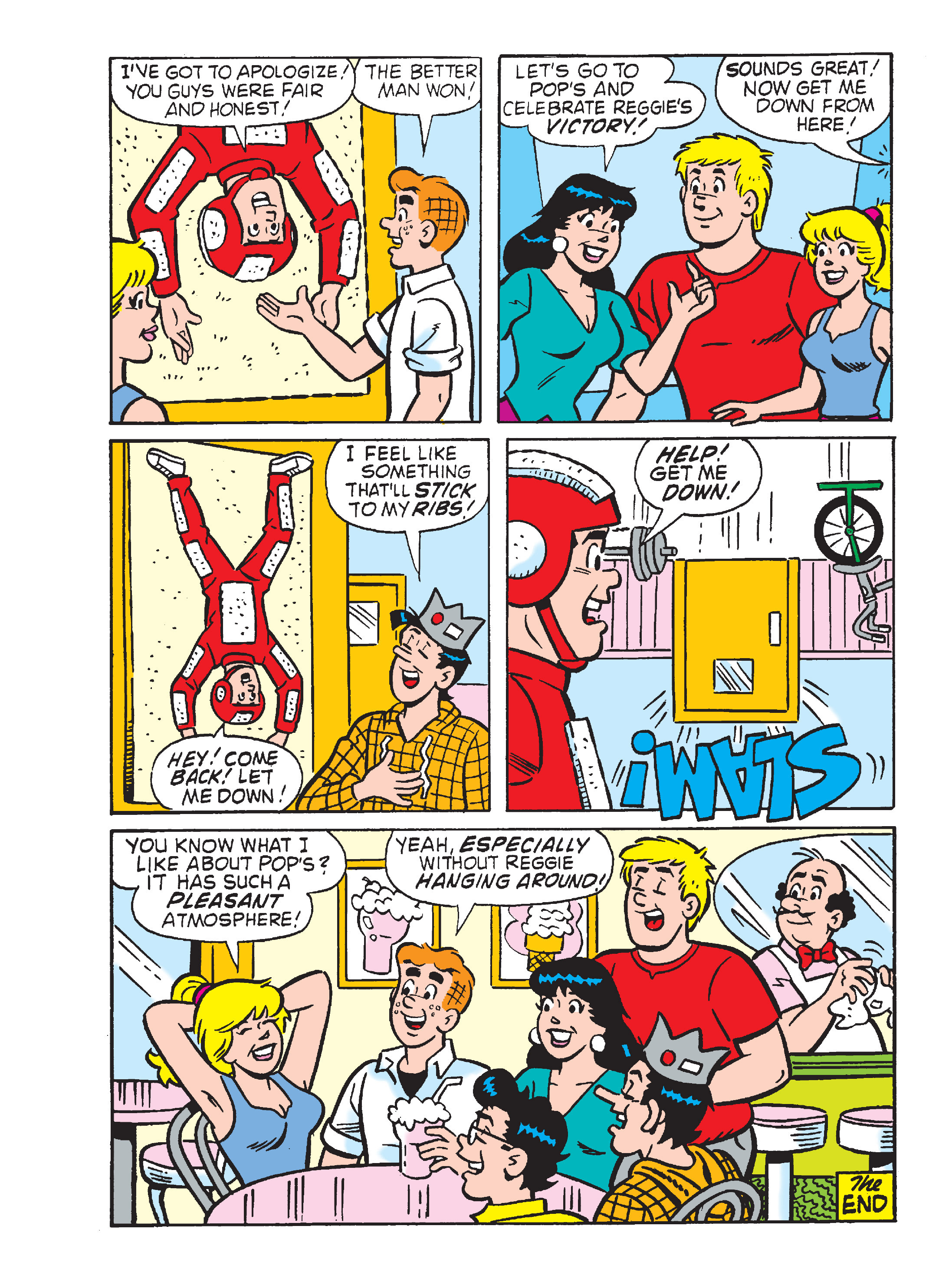 Read online Archie's Funhouse Double Digest comic -  Issue #15 - 112