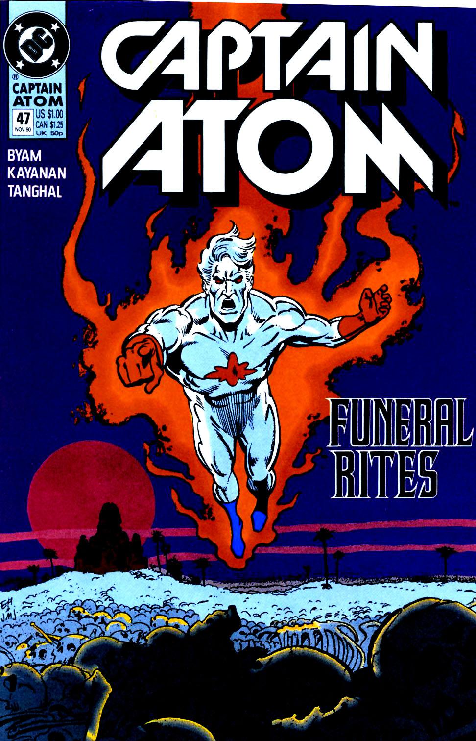 Captain Atom (1987) 47 Page 1