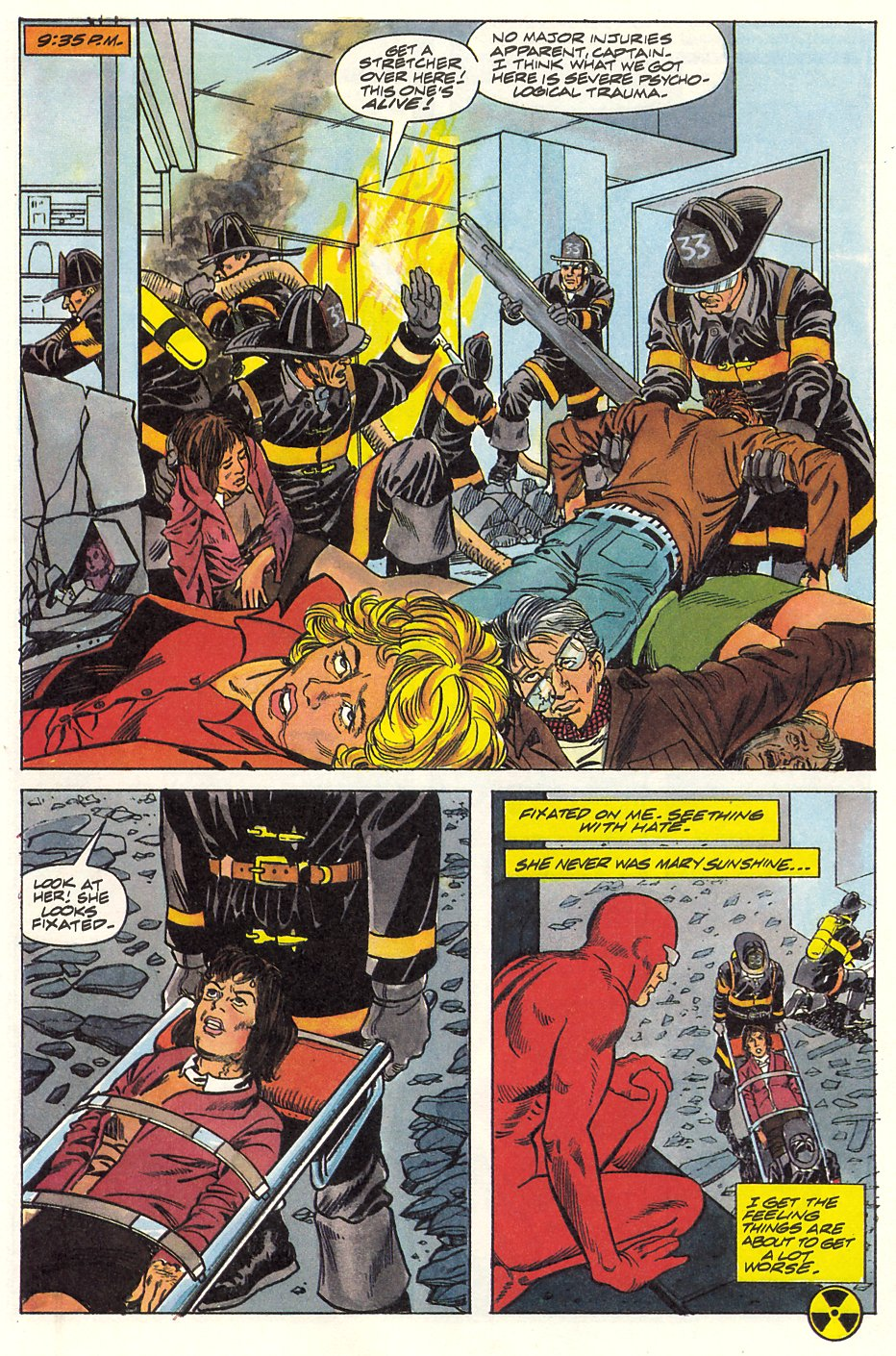 Read online Solar, Man of the Atom comic -  Issue #9 - 37