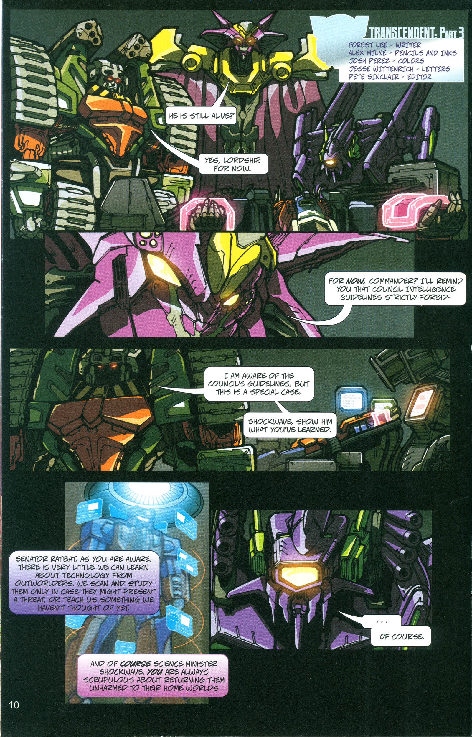 Read online Transformers: Collectors' Club comic -  Issue #21 - 10