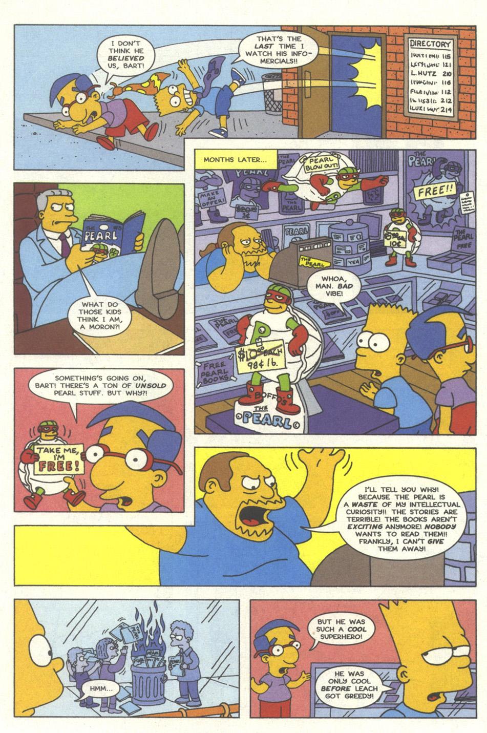 Read online Simpsons Comics comic -  Issue #13 - 16