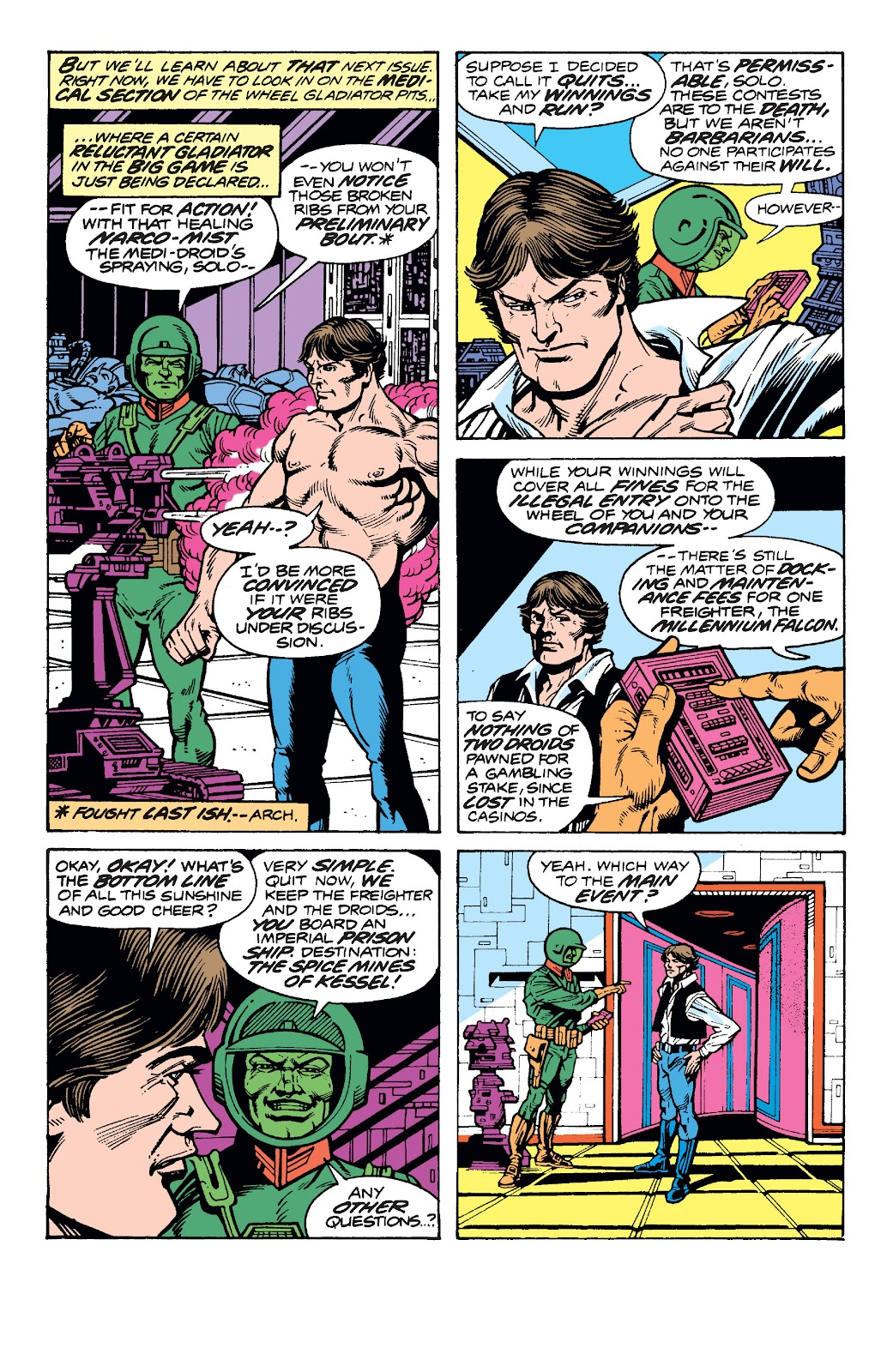 Read online Star Wars Legends: The Original Marvel Years - Epic Collection comic -  Issue # TPB 1 (Part 4) - 84