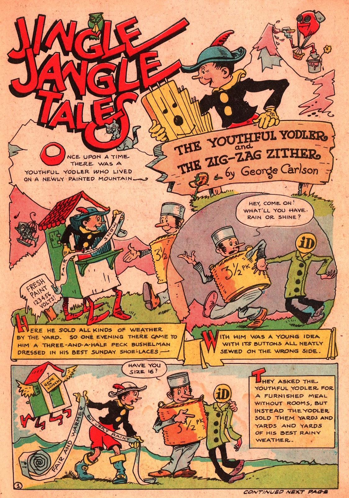 Jingle Jangle Comics issue 2 - Page 3