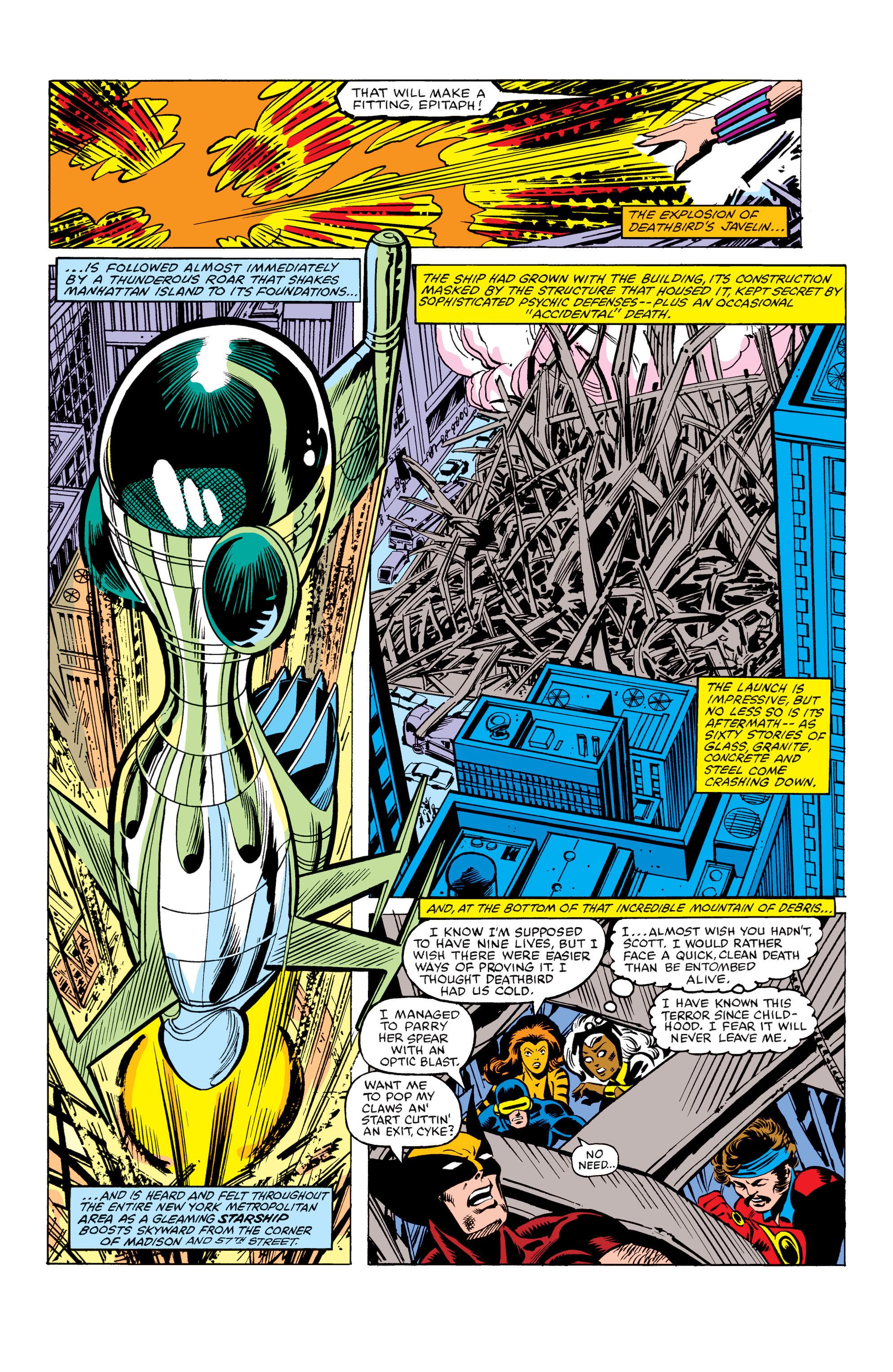 Read online Uncanny X-Men (1963) comic -  Issue #155 - 23