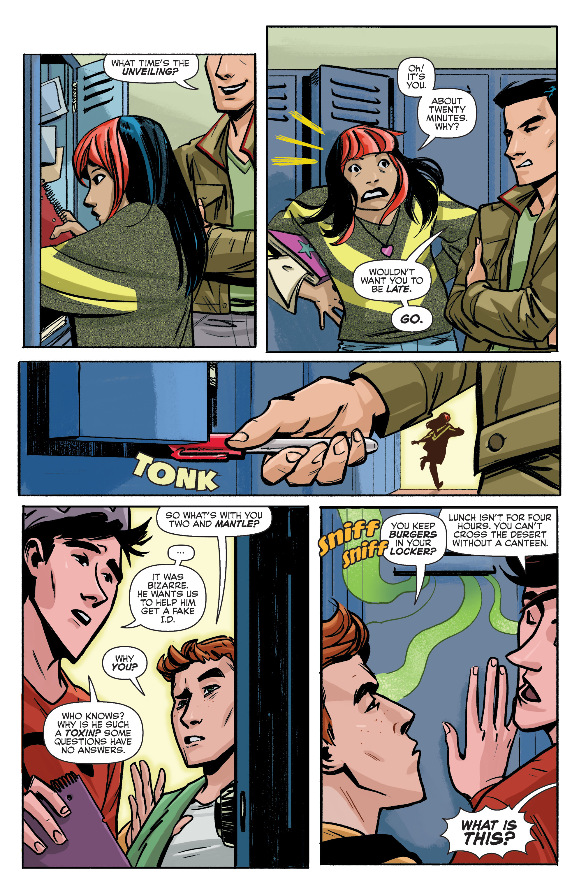 Read online Archie (2015) comic -  Issue #5 - 15