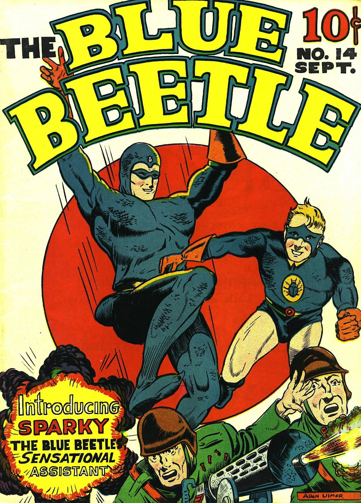 The Blue Beetle issue 14 - Page 1