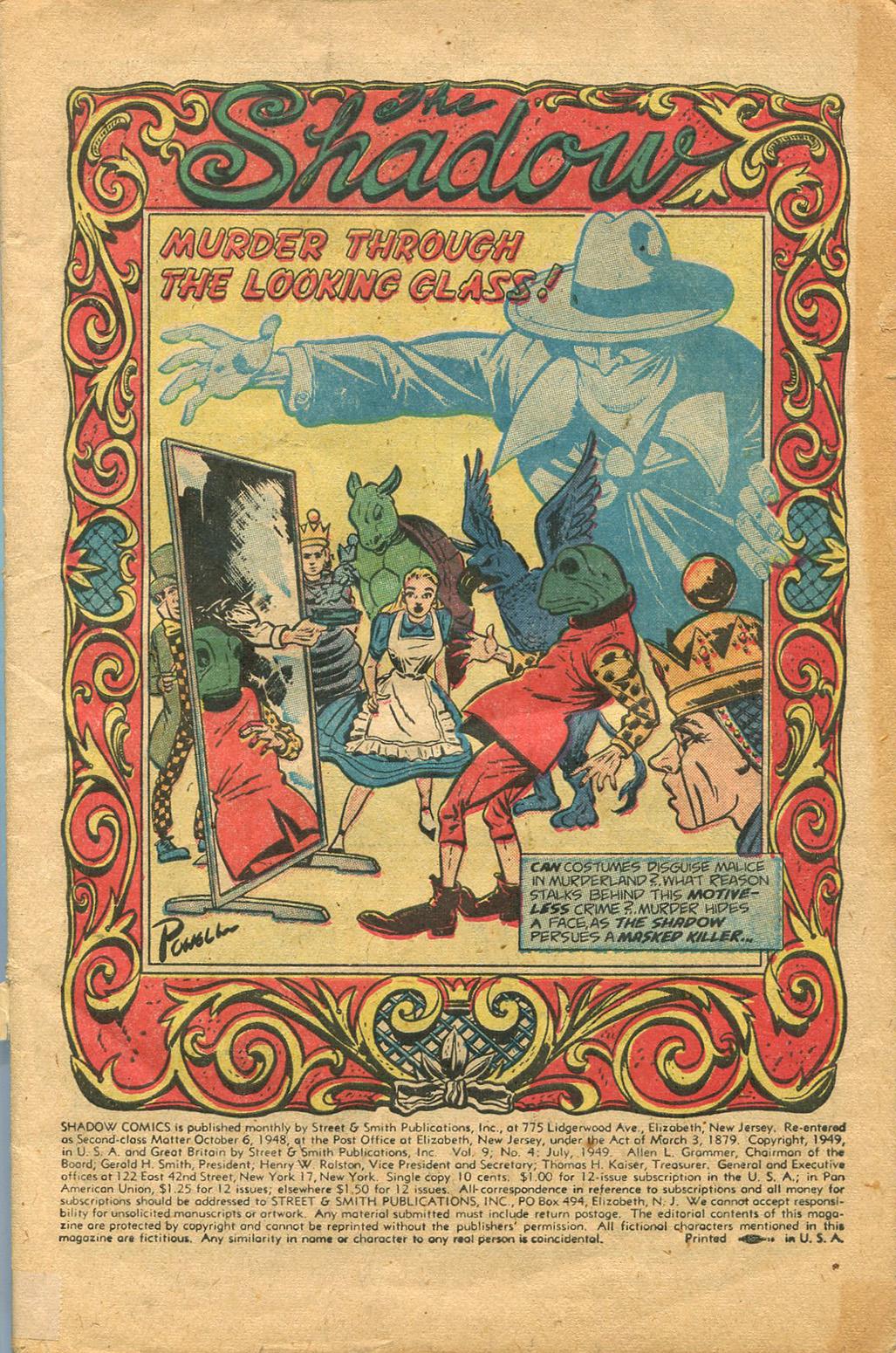 Read online Shadow Comics comic -  Issue #100 - 3
