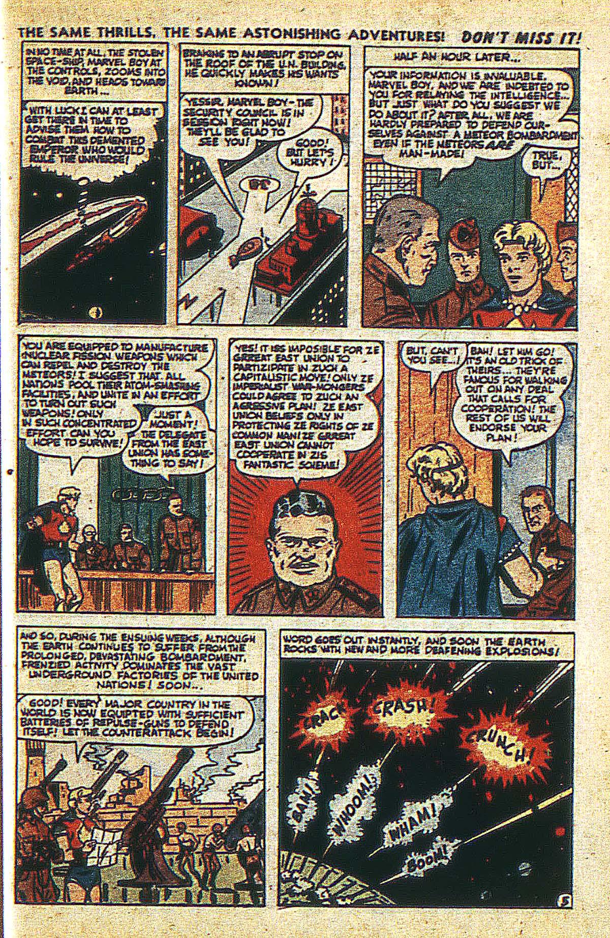 Read online Marvel Boy (1950) comic -  Issue #2 - 8