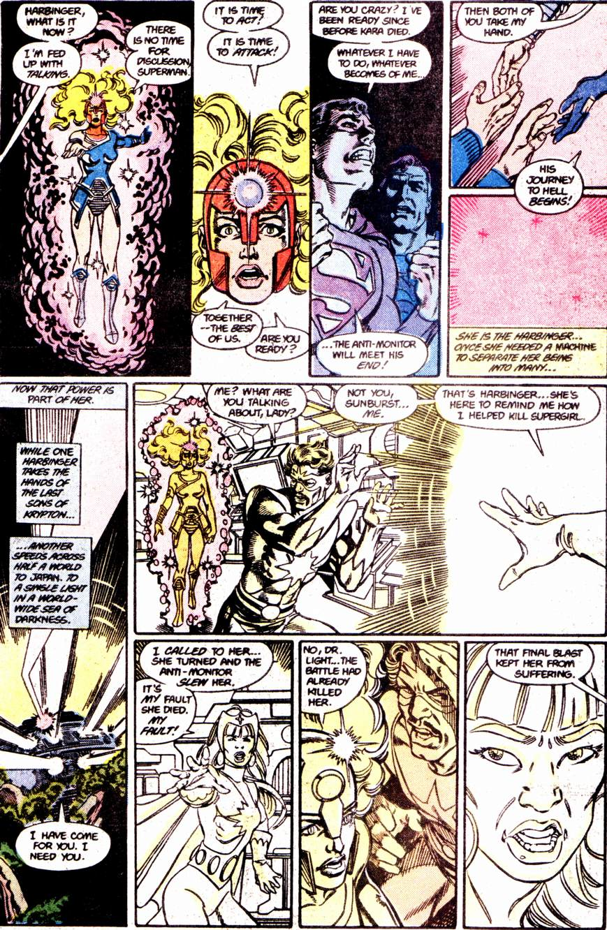 Crisis on Infinite Earths (1985) 12 Page 7