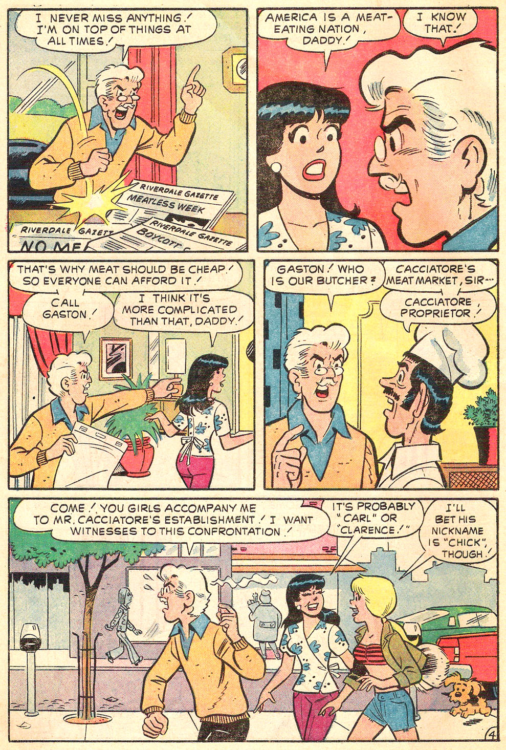 Read online Archie's Girls Betty and Veronica comic -  Issue #216 - 6