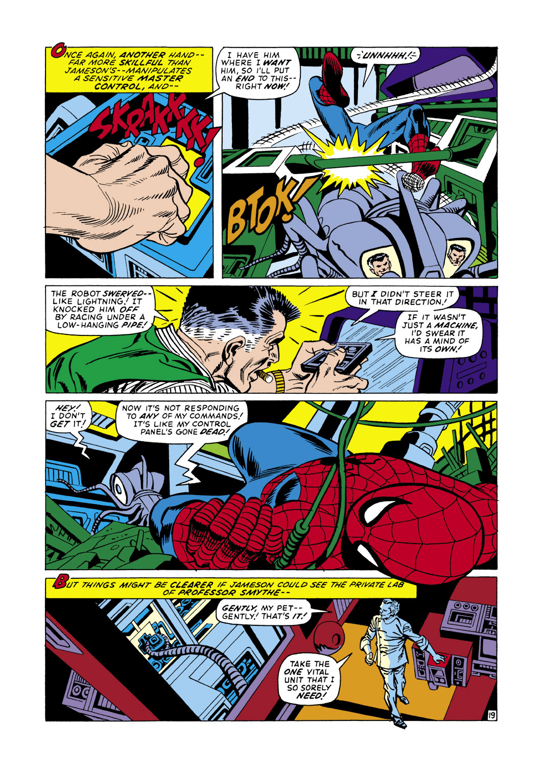 The Amazing Spider-Man (1963) 105 Page 19