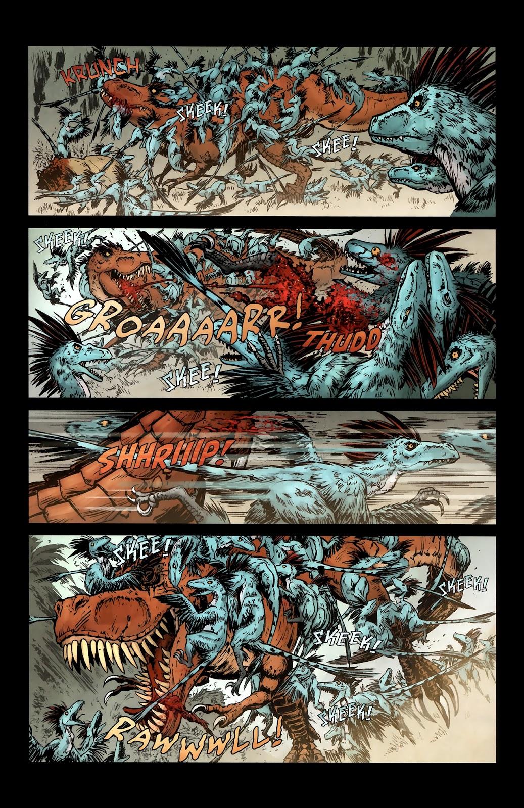 Read online Tyrannosaurus Rex comic -  Issue # Full - 18