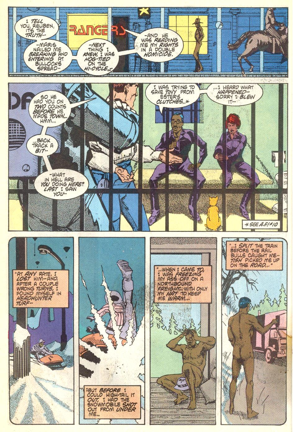 Read online American Flagg! comic -  Issue #17 - 13