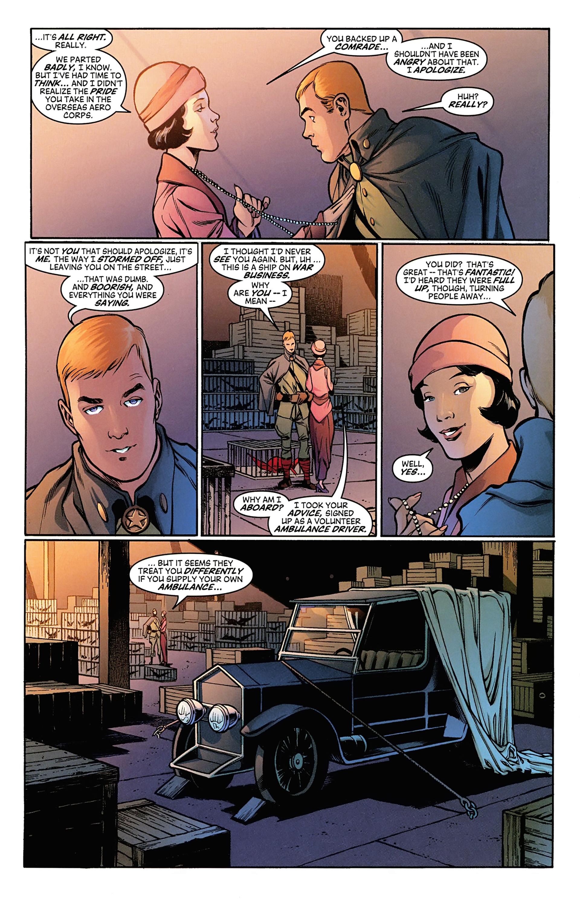 Read online Arrowsmith comic -  Issue #3 - 6