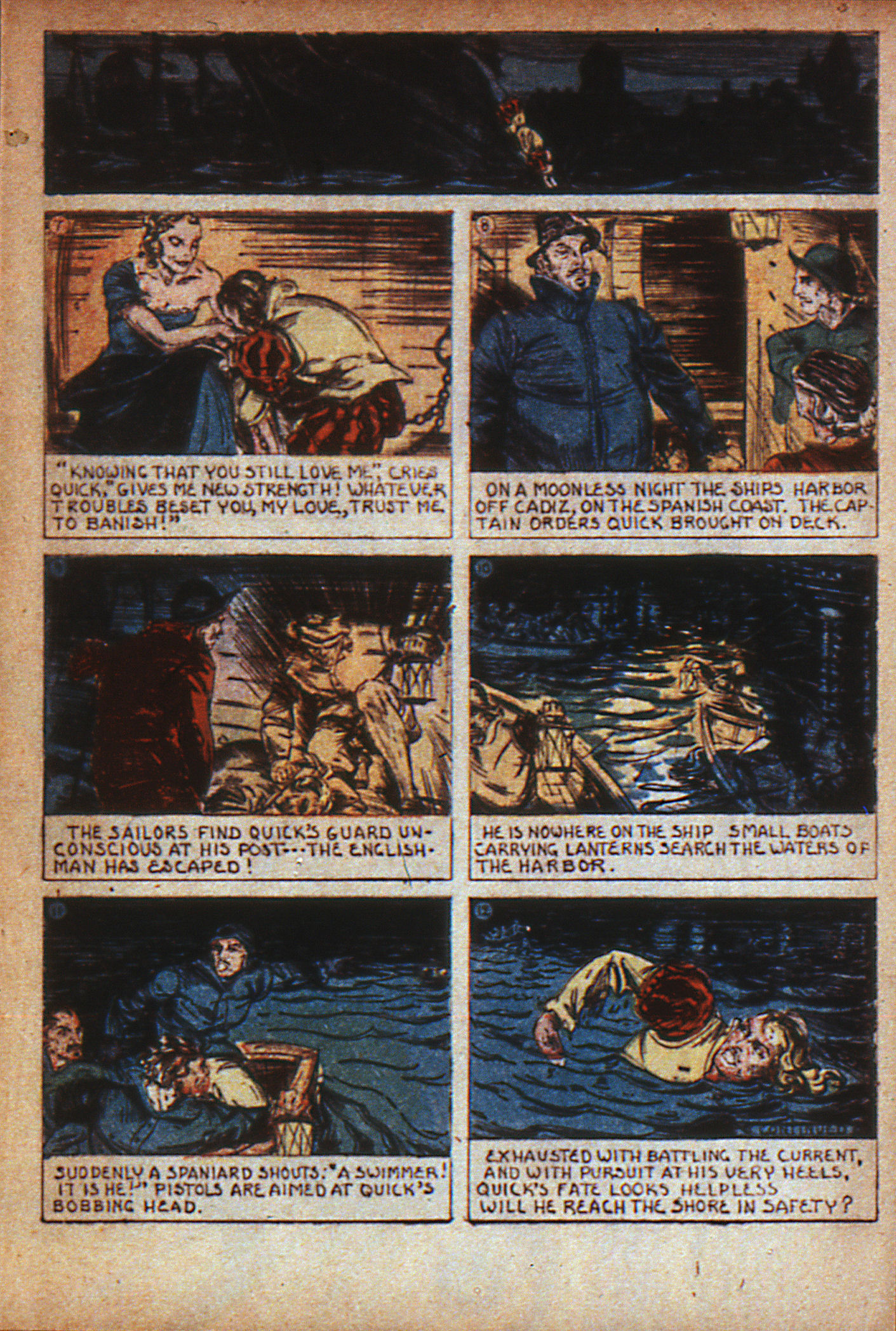 Read online Adventure Comics (1938) comic -  Issue #7 - 14