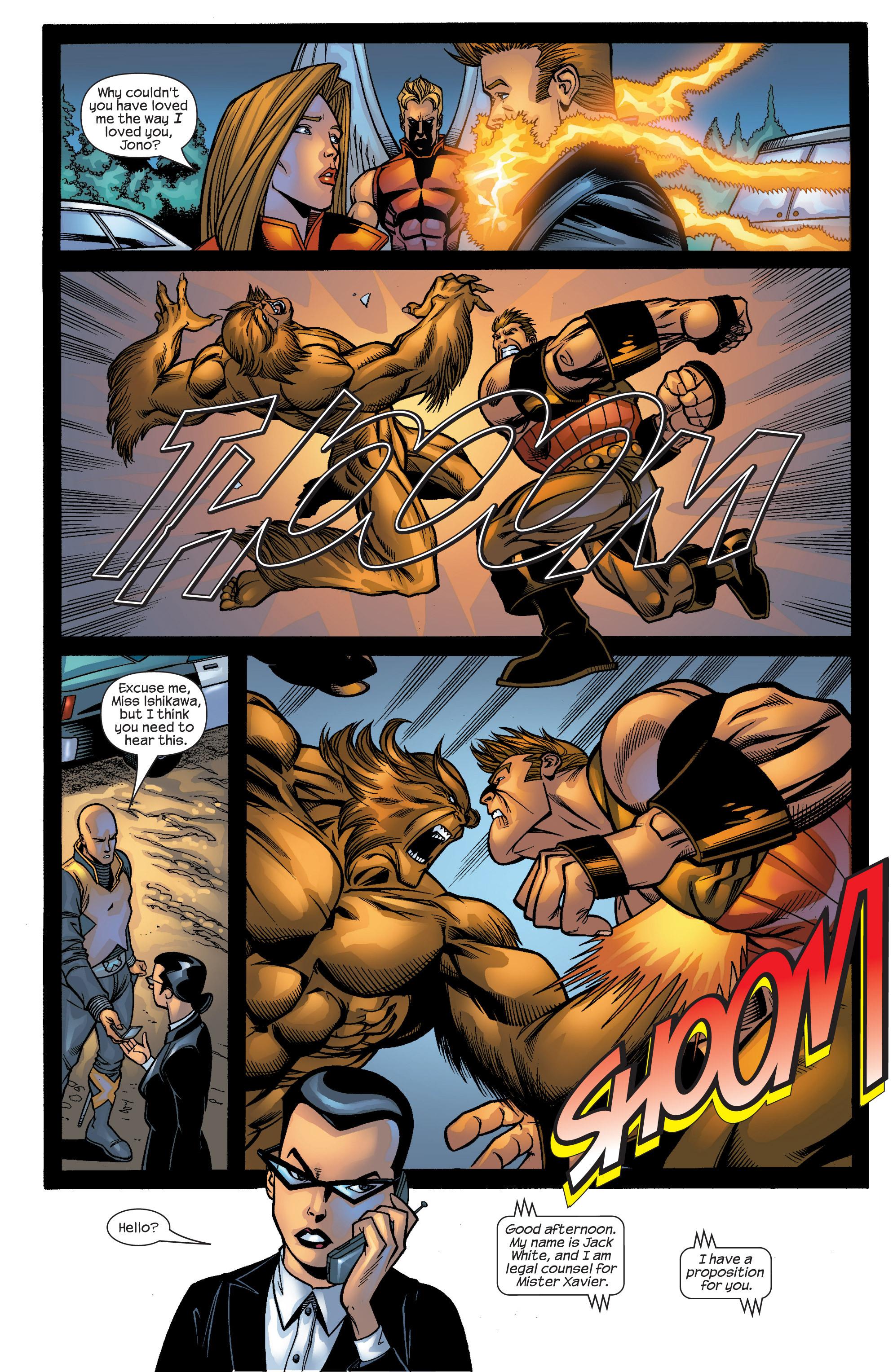 Read online Uncanny X-Men (1963) comic -  Issue #422 - 32