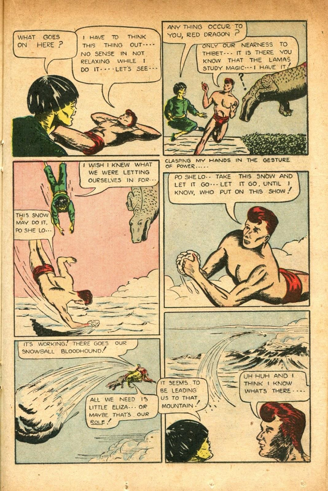 Read online Super-Magician Comics comic -  Issue #51 - 29