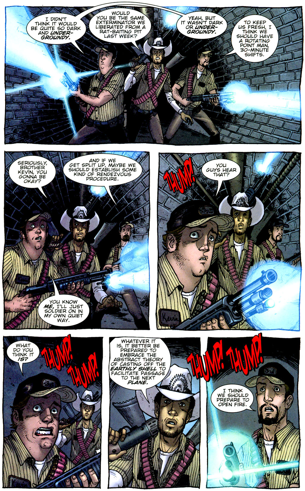 Read online The Exterminators comic -  Issue #9 - 21