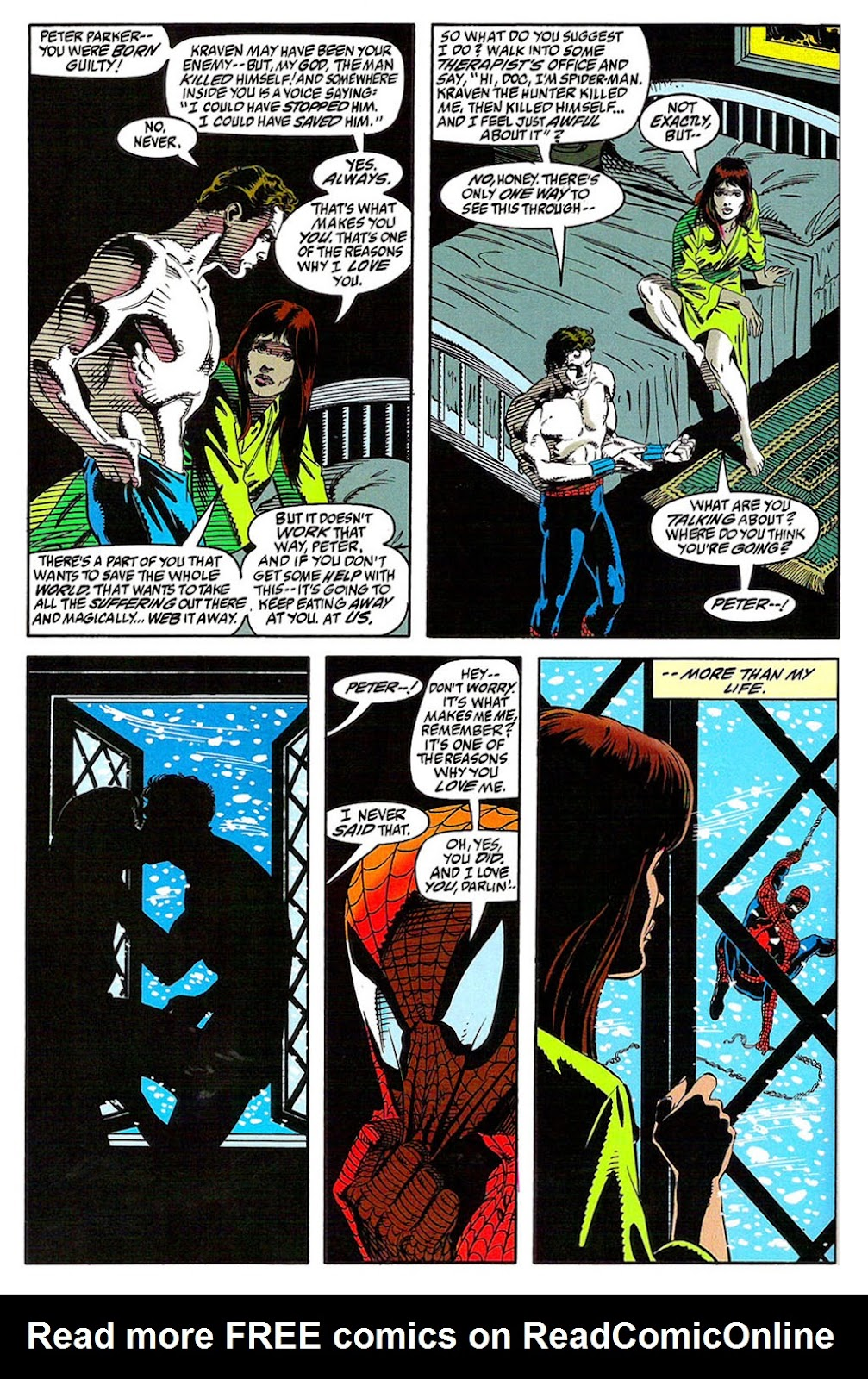 Read online The Amazing Spider-Man: Soul of the Hunter comic -  Issue # Full - 30