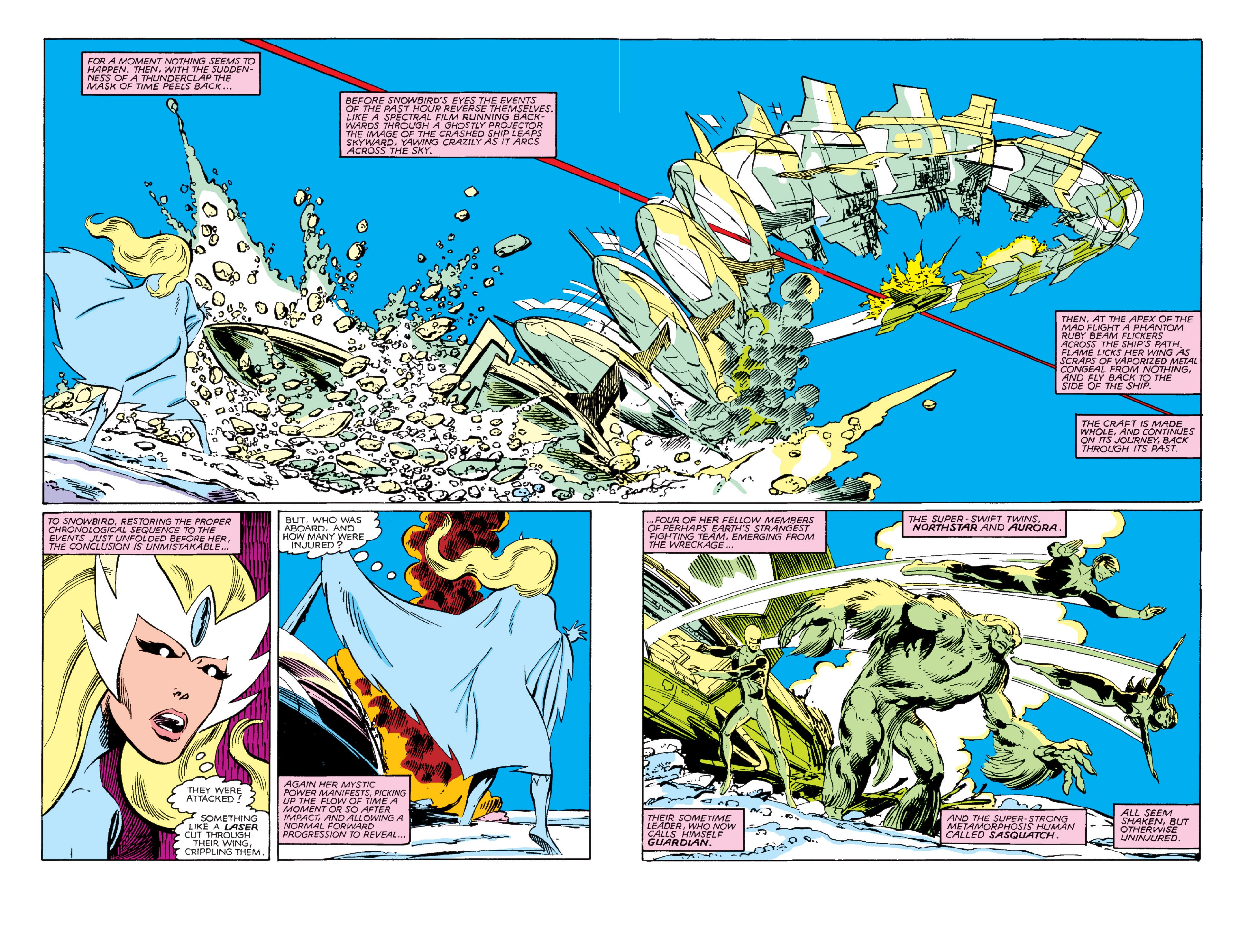 Read online Alpha Flight (1983) comic -  Issue #3 - 5
