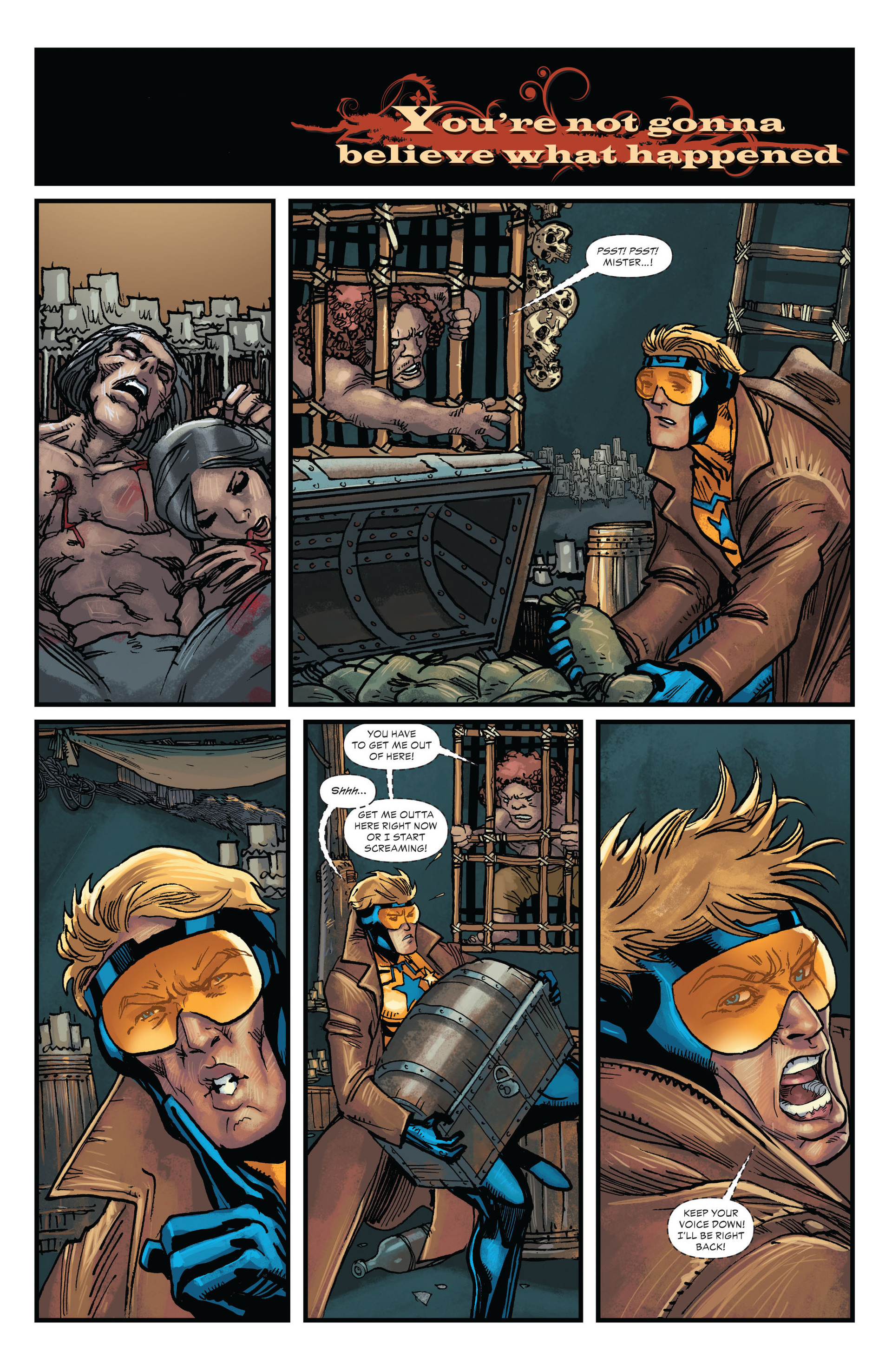 Read online All-Star Western (2011) comic -  Issue #20 - 14