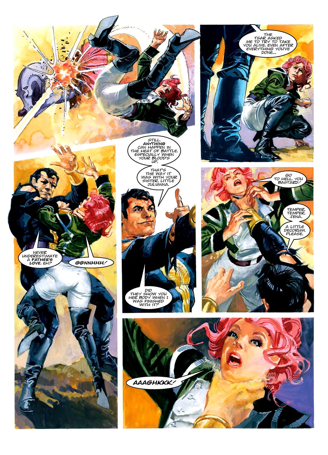 Read online Nikolai Dante comic -  Issue # TPB 10 - 72