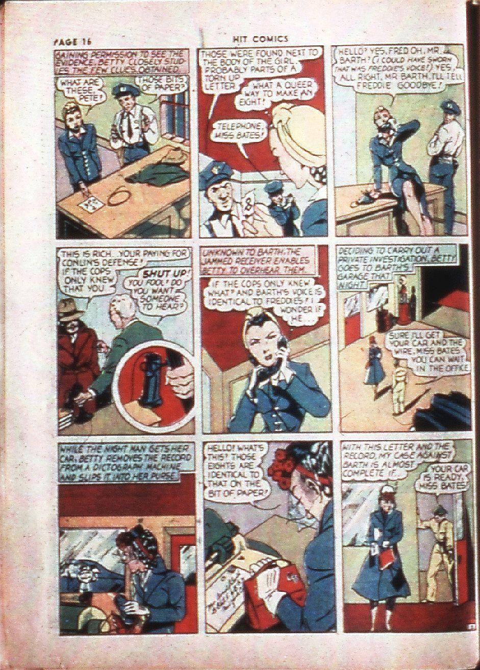 Read online Hit Comics comic -  Issue #4 - 18