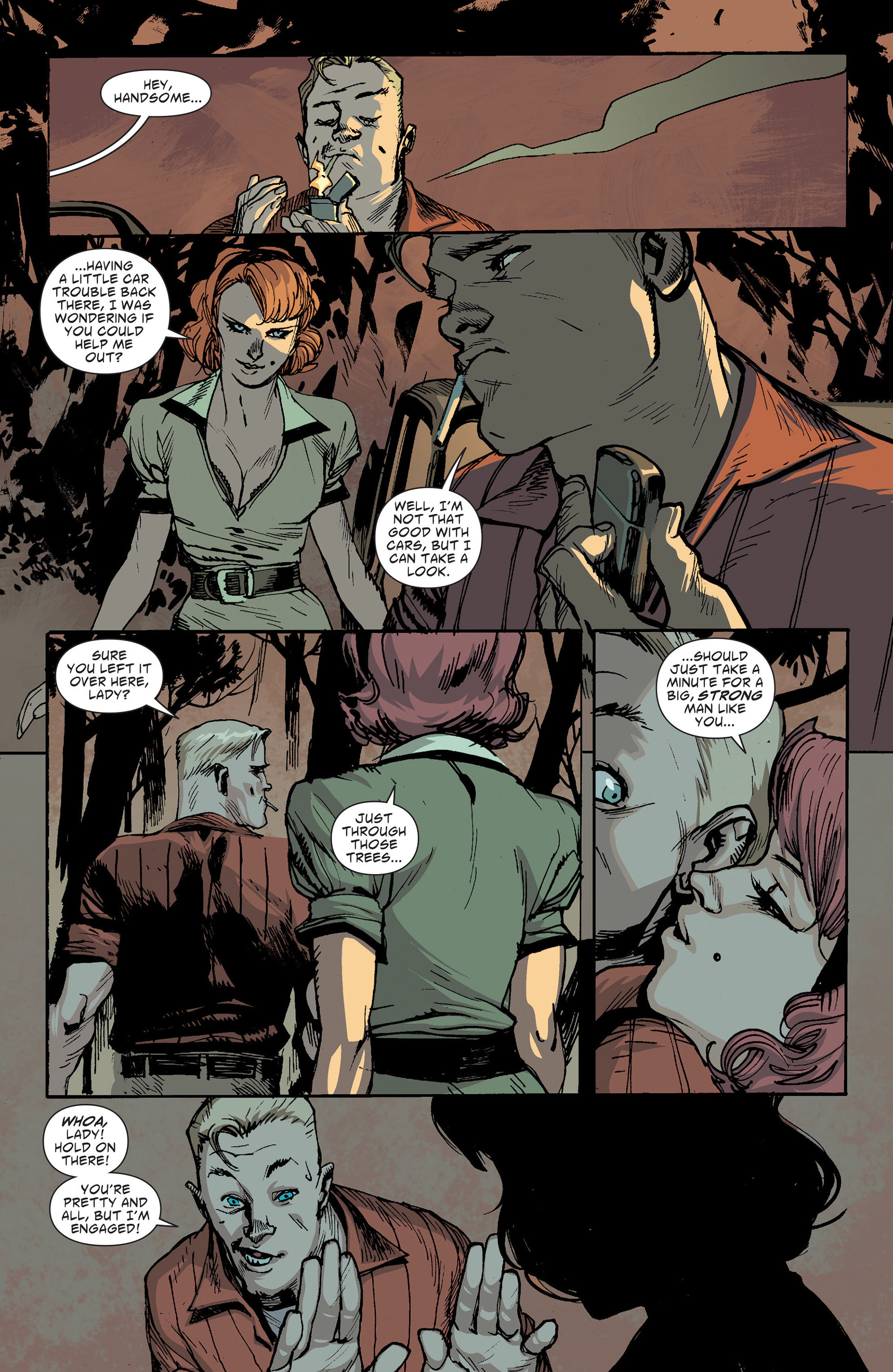 Read online American Vampire: The Long Road To Hell comic -  Issue # Full - 5
