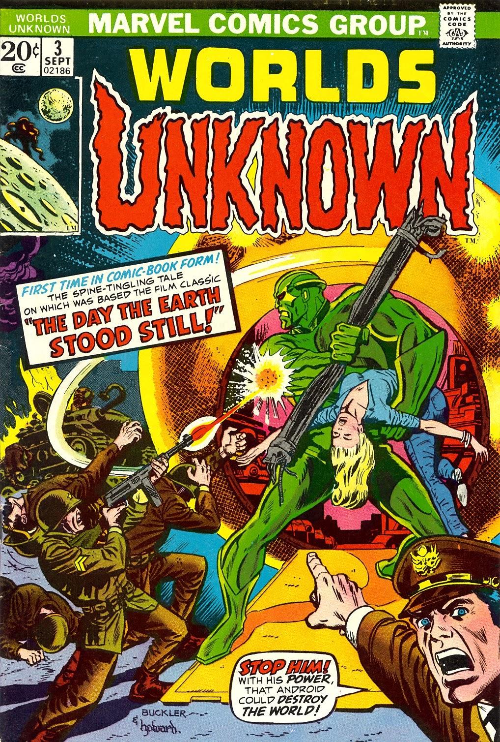 Worlds Unknown 3 Page 1
