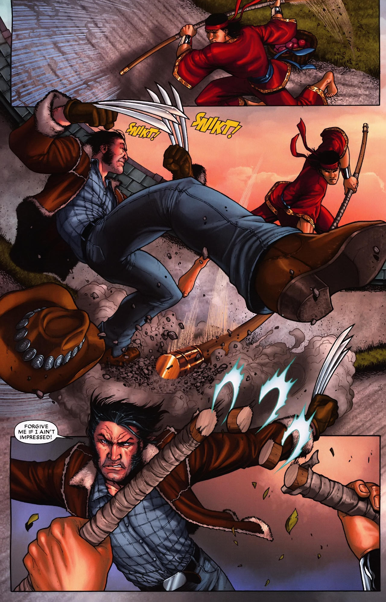 Read online Wolverine: First Class comic -  Issue #9 - 5