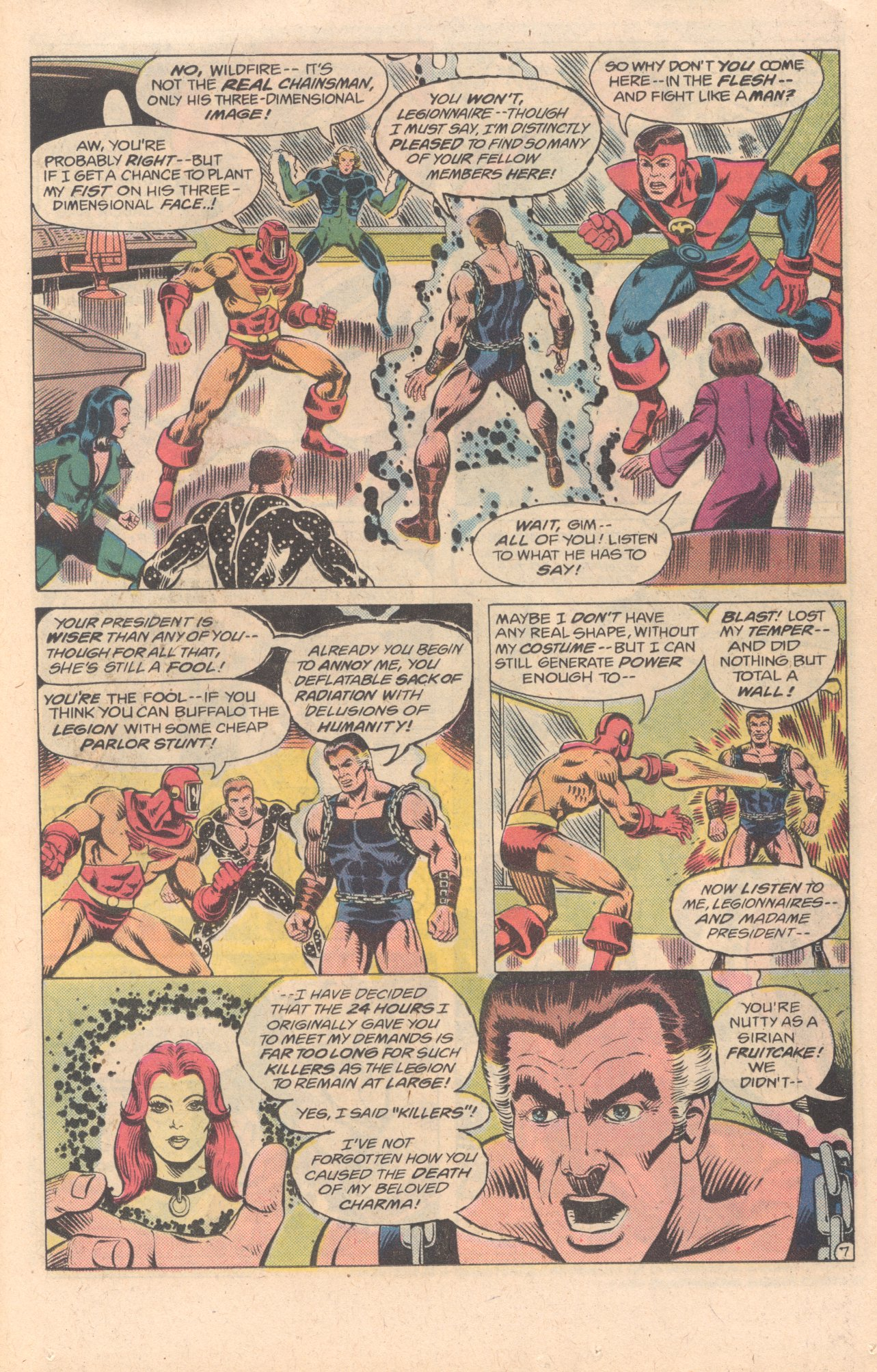Legion of Super-Heroes (1980) 278 Page 7