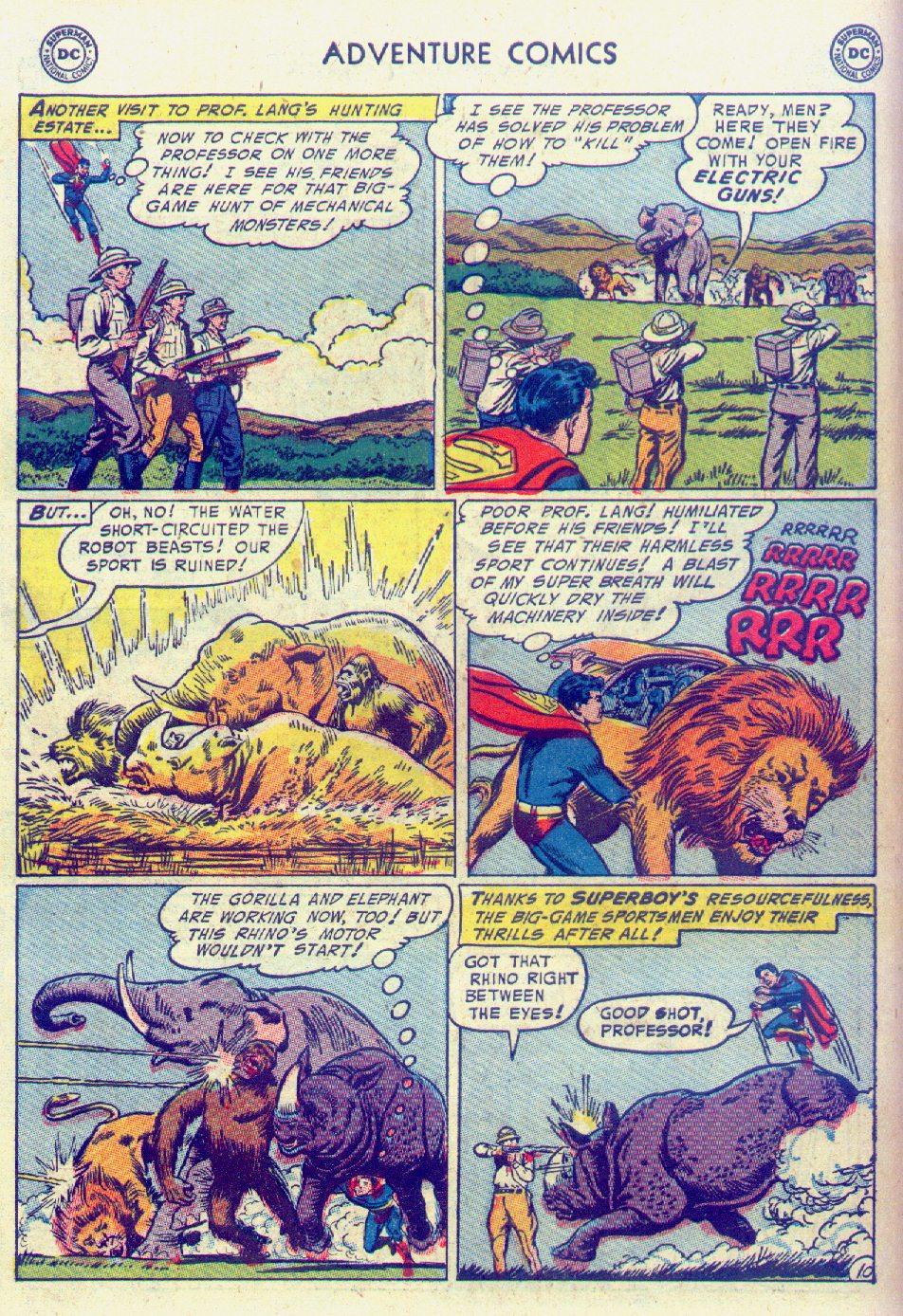 Read online Adventure Comics (1938) comic -  Issue #201 - 12