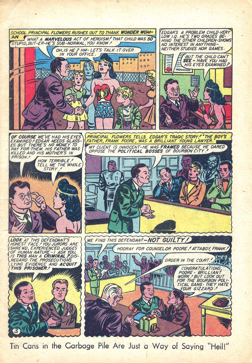 Read online Sensation (Mystery) Comics comic -  Issue #34 - 5