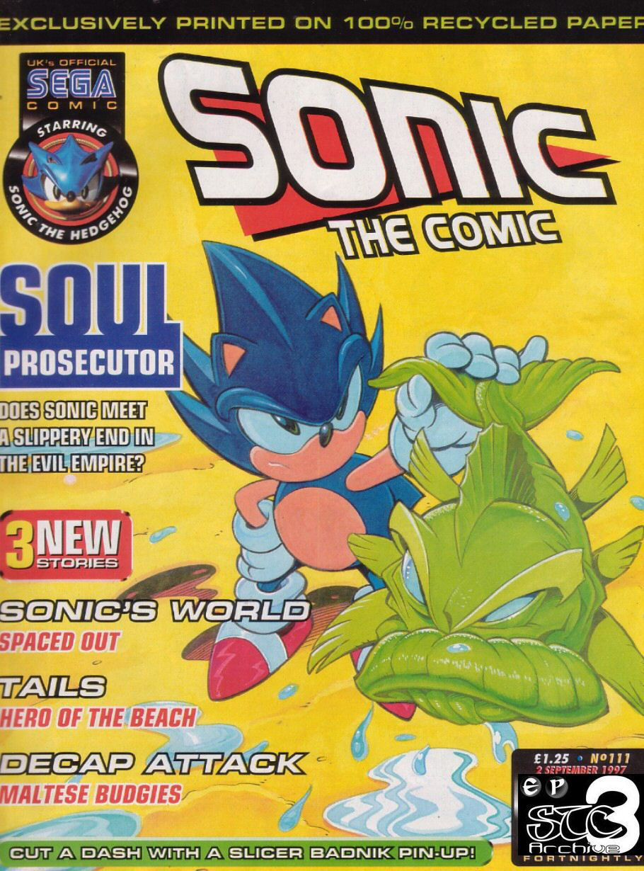 Read online Sonic the Comic comic -  Issue #111 - 1