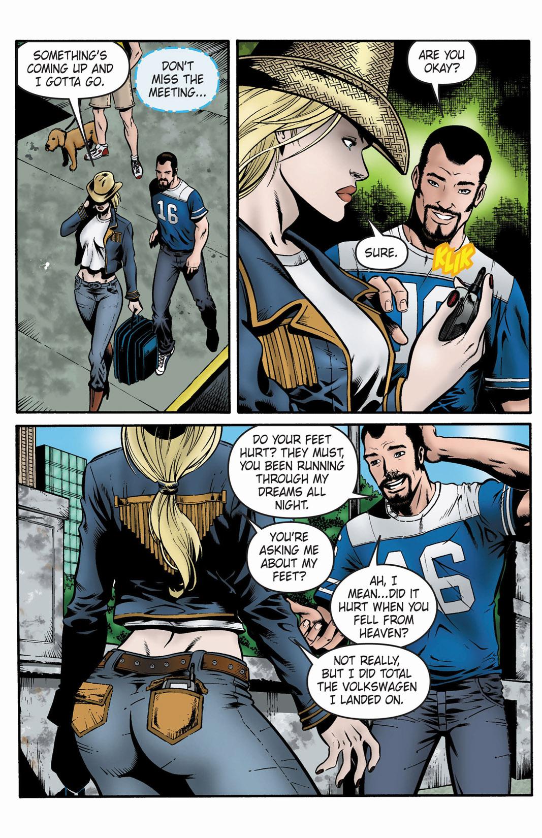 Read online SideChicks comic -  Issue #1 - 21