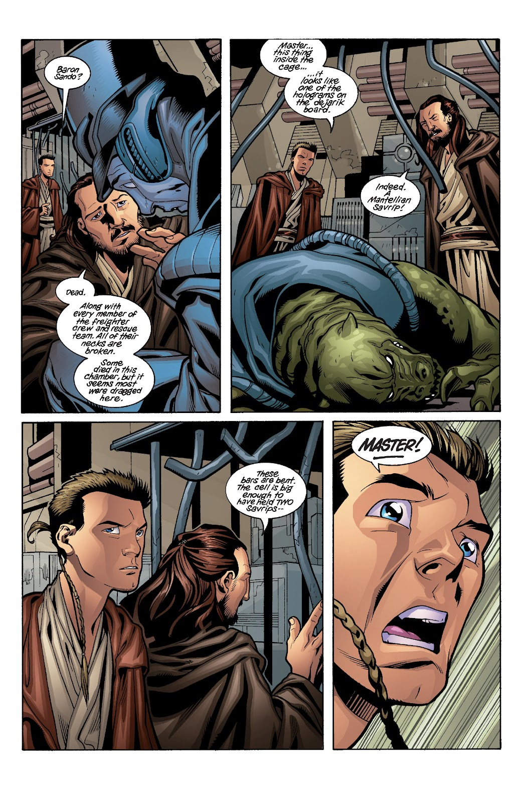 Read online Star Wars Legends: Rise of the Sith - Epic Collection comic -  Issue # TPB 1 (Part 3) - 86