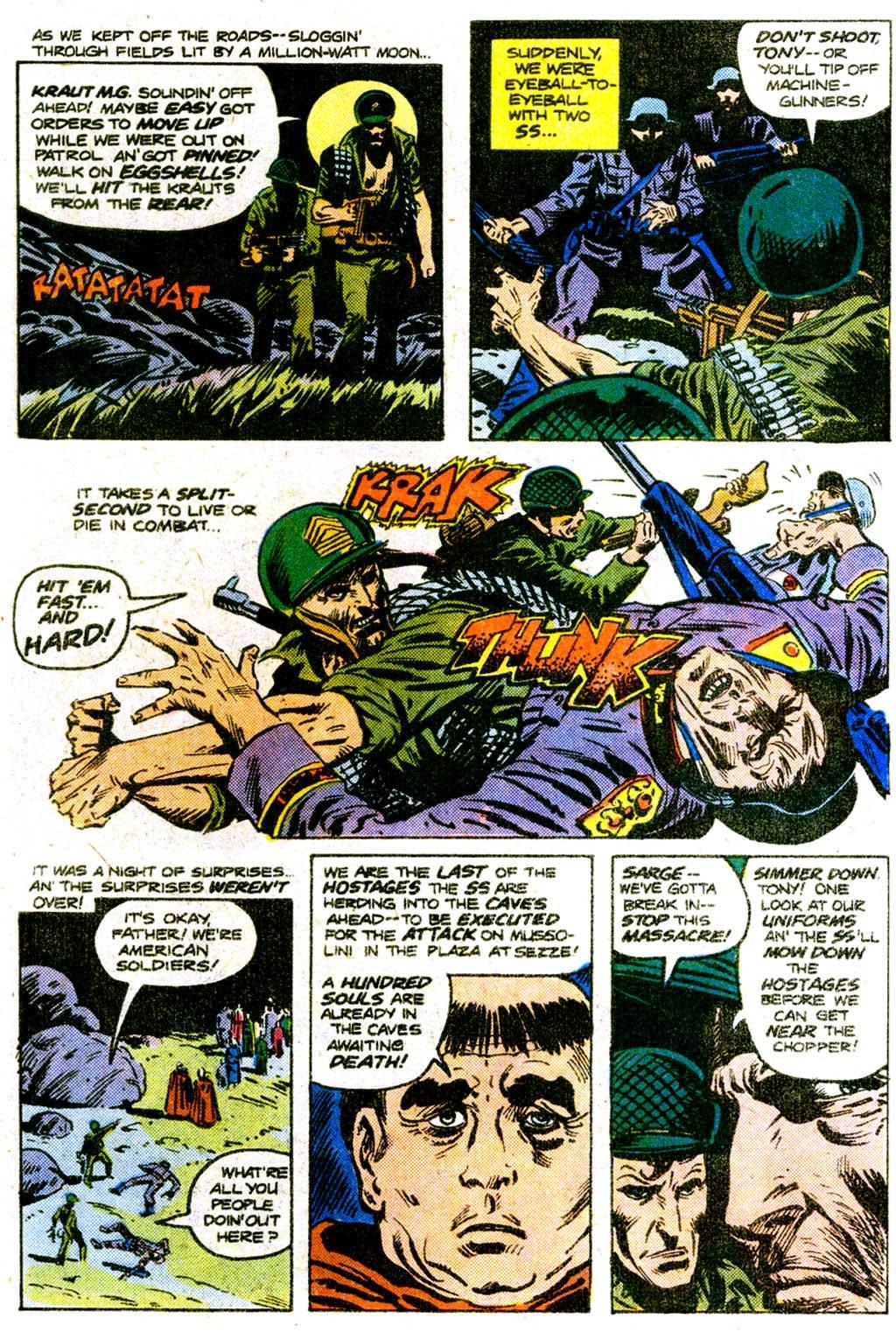 Read online Sgt. Rock comic -  Issue #303 - 9