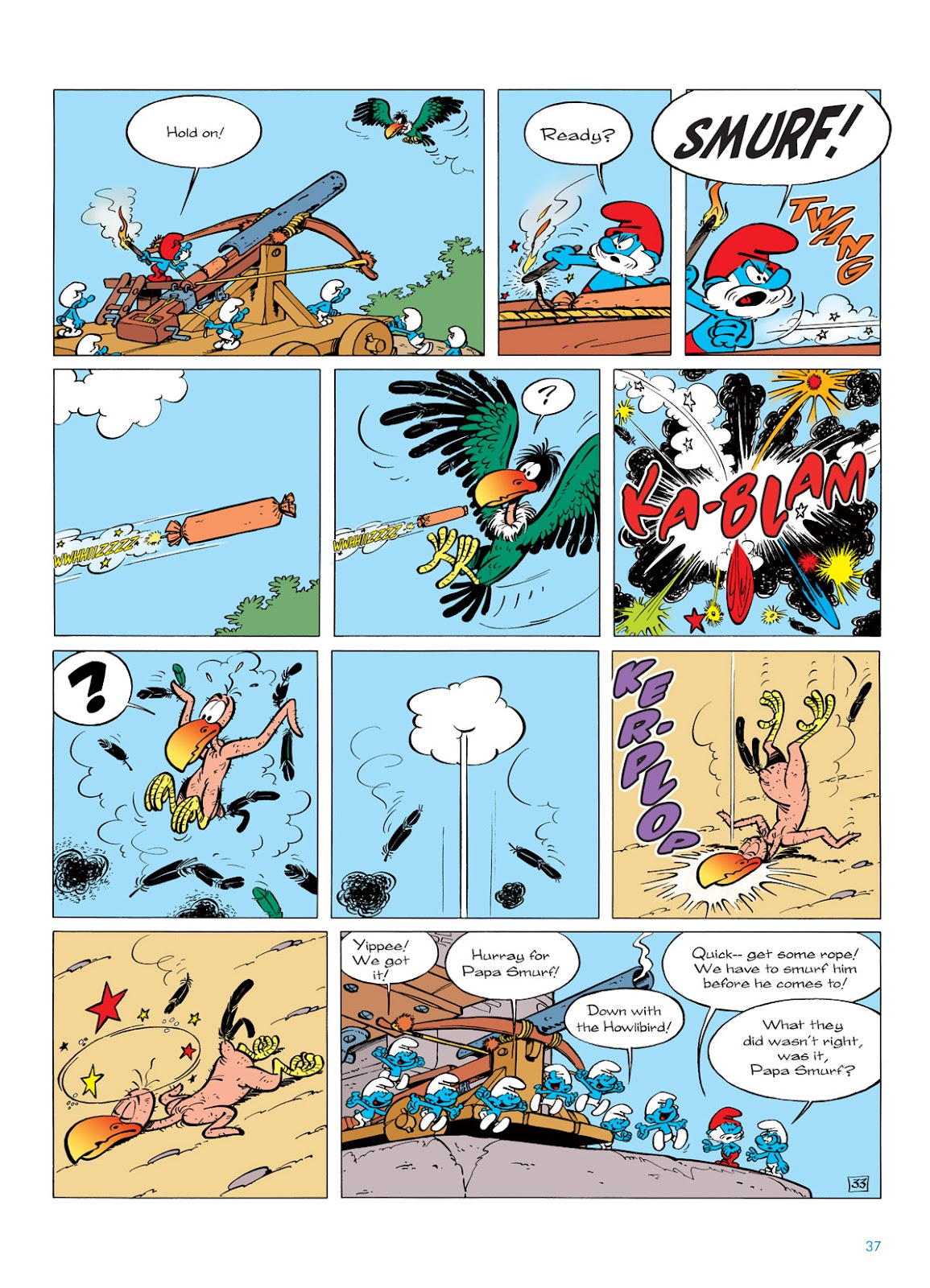 Read online The Smurfs comic -  Issue #6 - 37