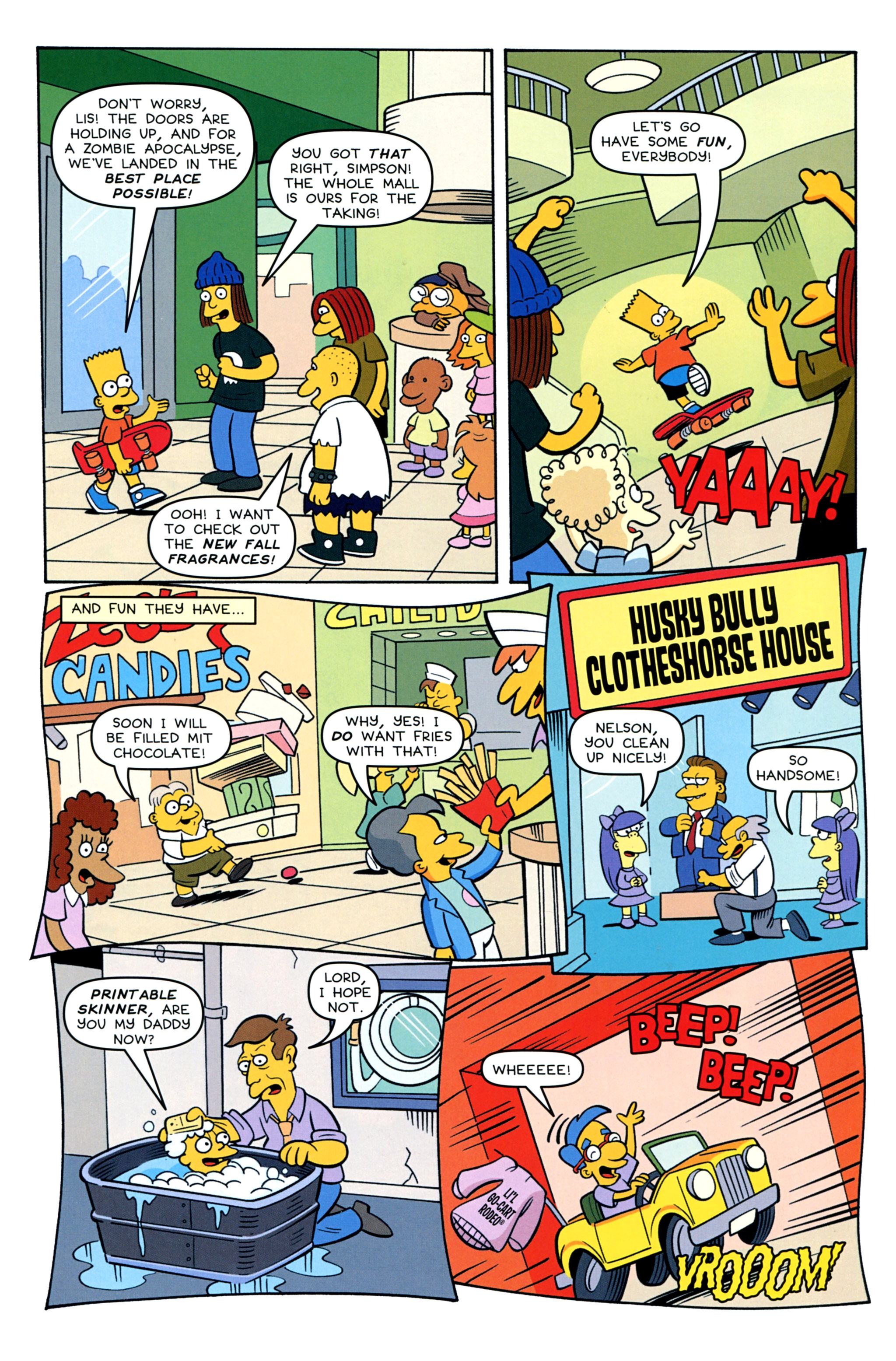 Read online Treehouse of Horror comic -  Issue #20 - 27