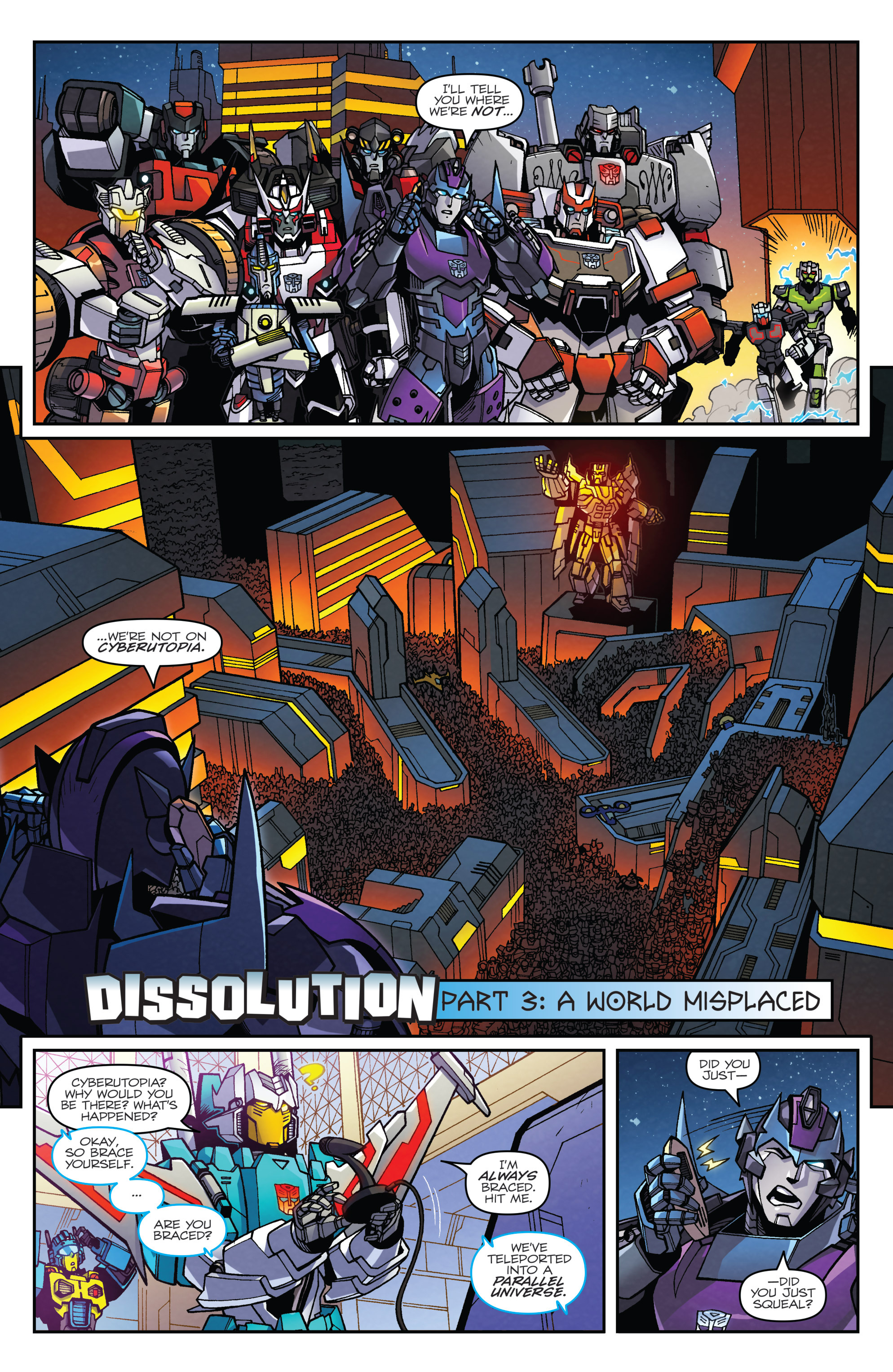 Read online Transformers: Lost Light comic -  Issue #3 - 5