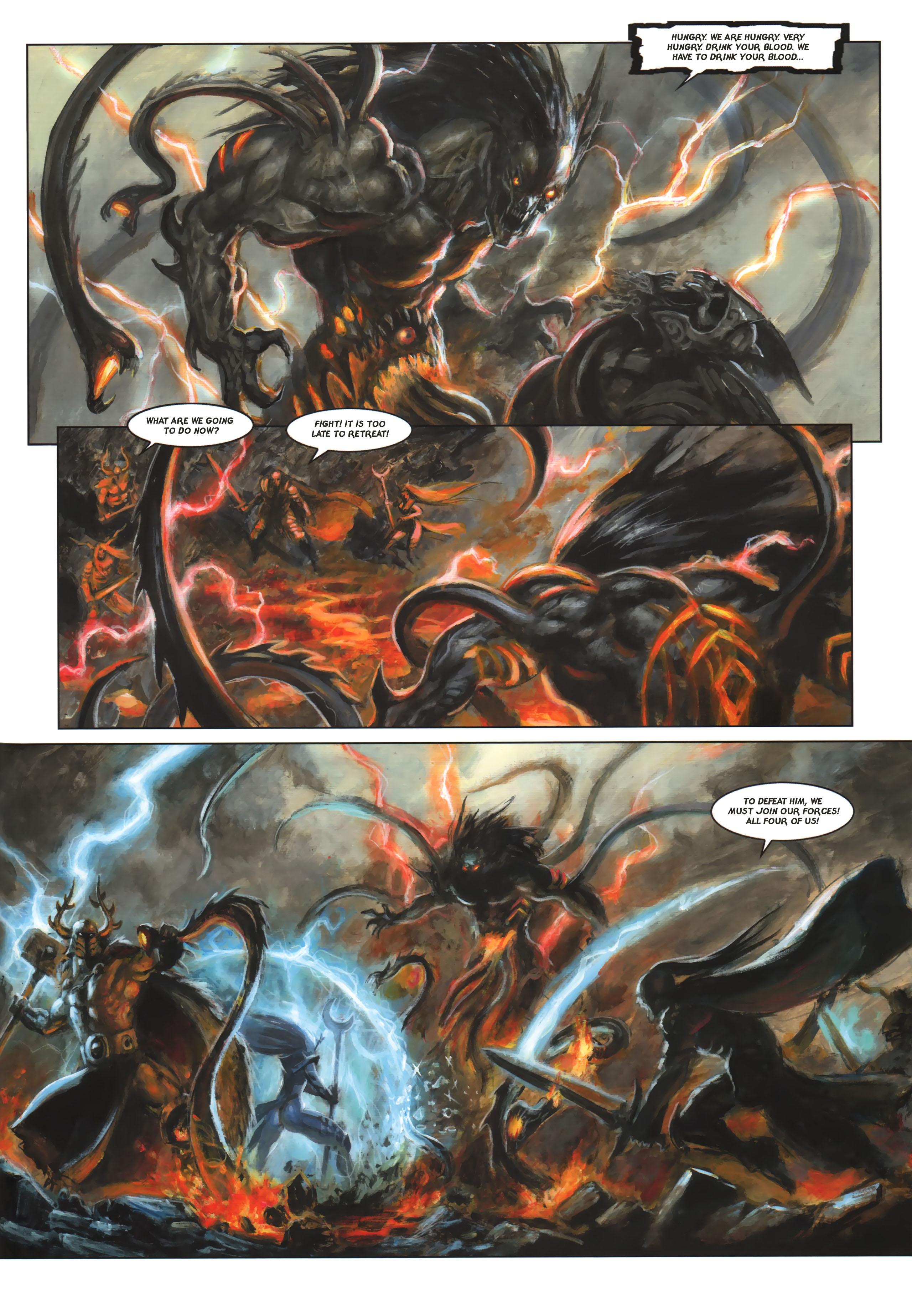 Read online Arawn comic -  Issue #6 - 20