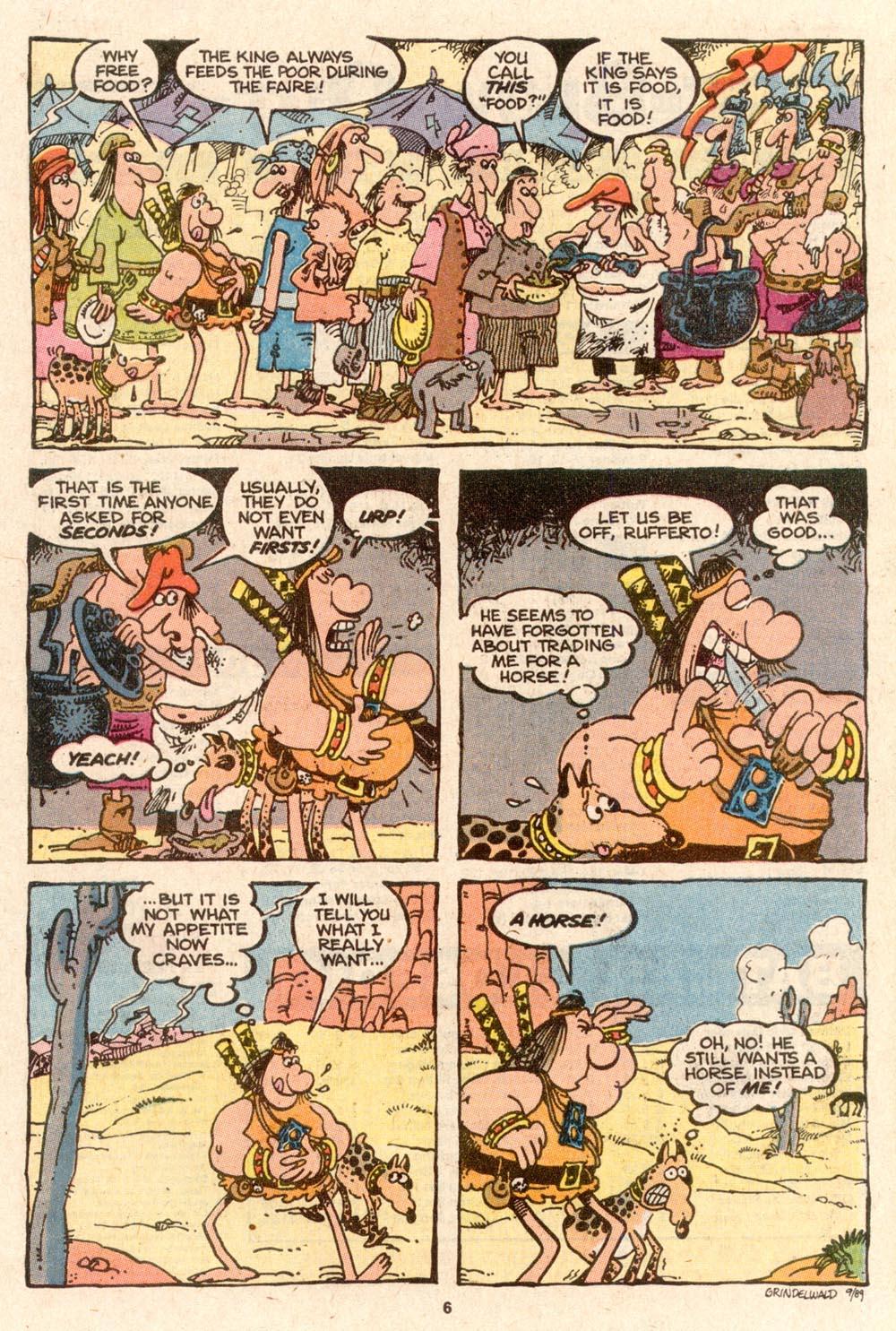 Read online Sergio Aragonés Groo the Wanderer comic -  Issue #62 - 6