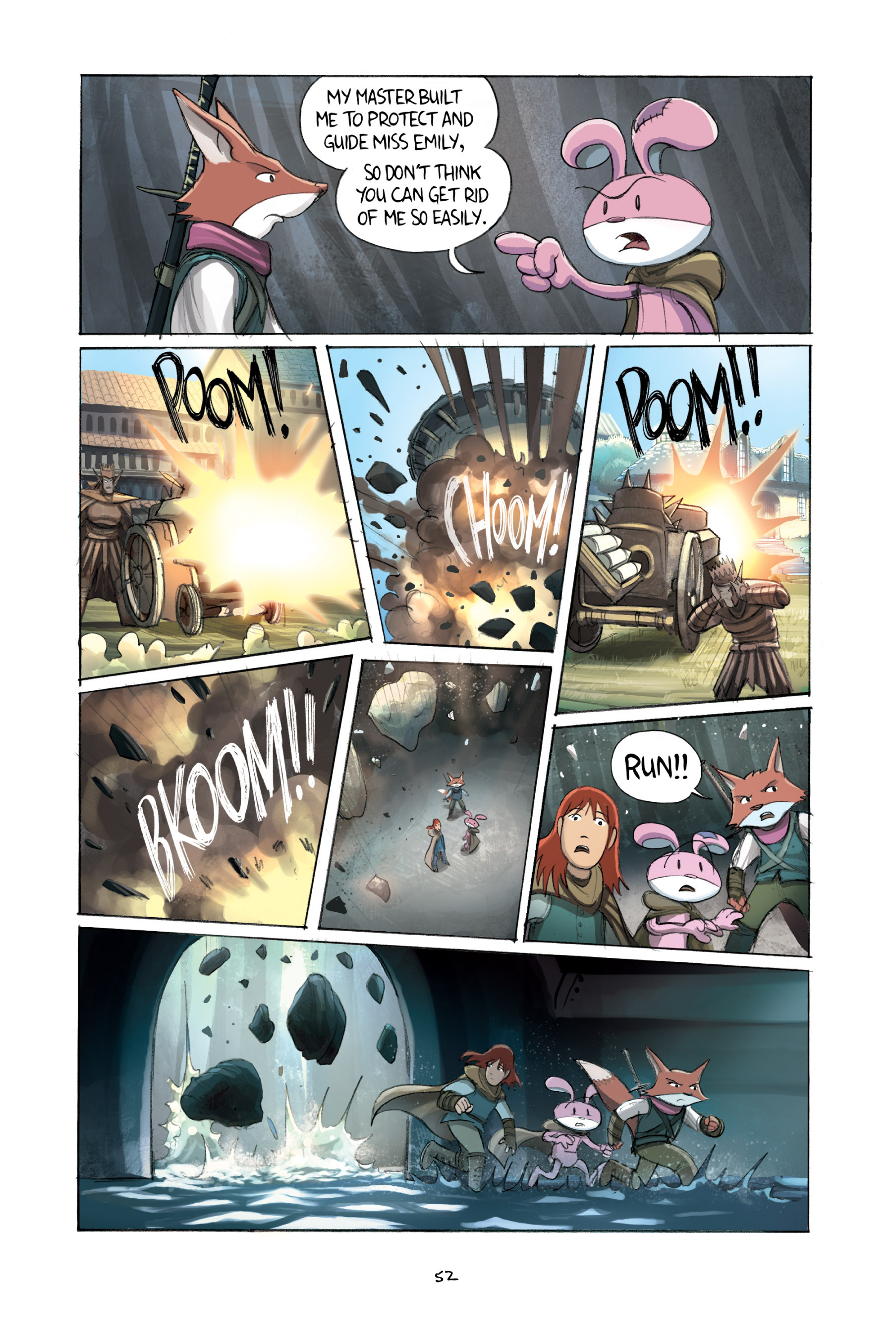 Read online Amulet comic -  Issue #2 - 54