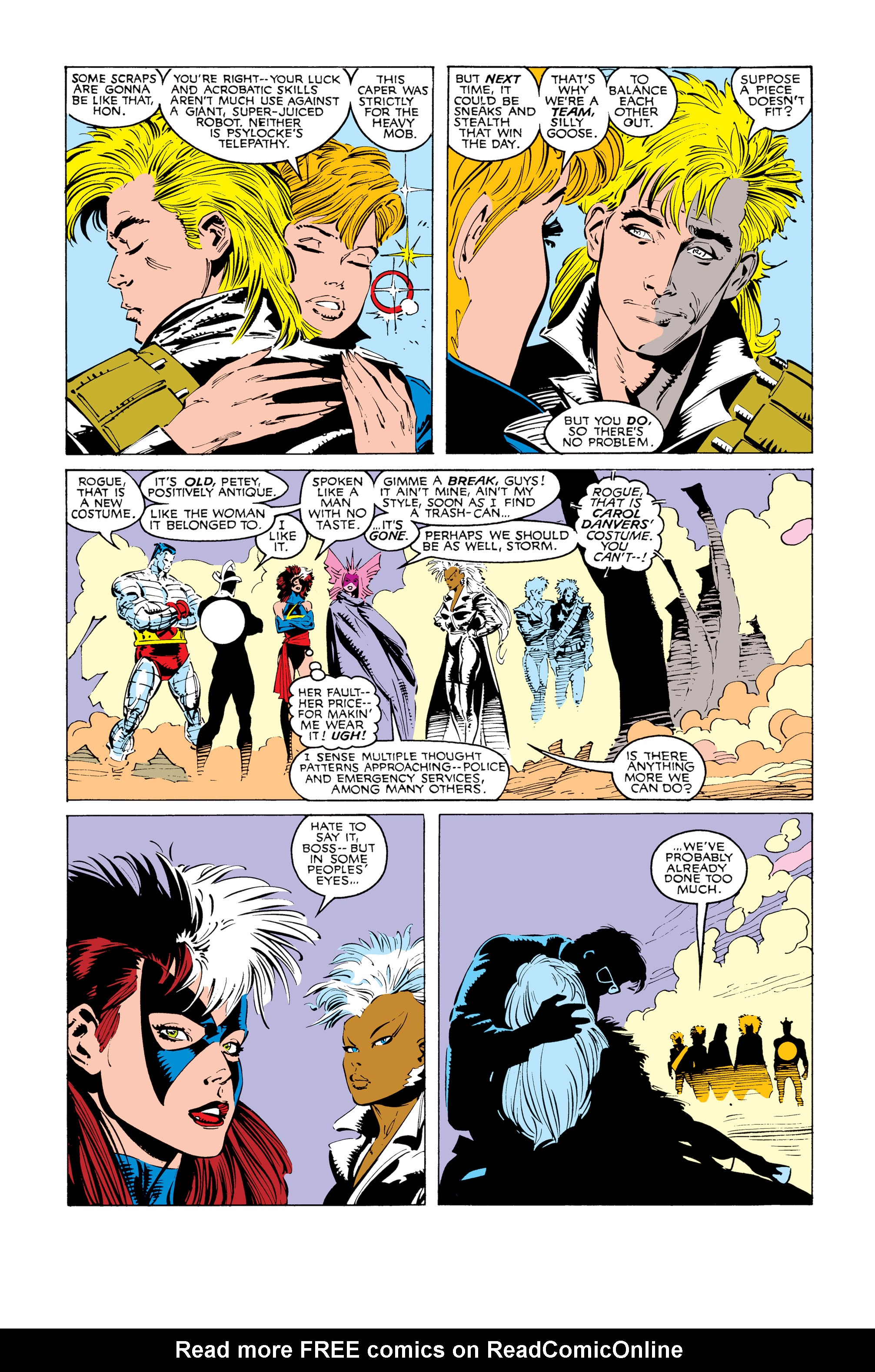 Read online Uncanny X-Men (1963) comic -  Issue #247 - 8