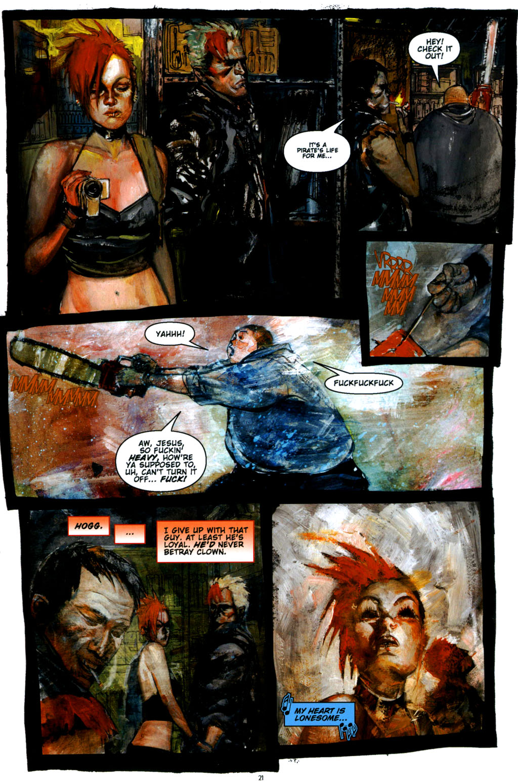 Read online Silent Hill: Dying Inside comic -  Issue #3 - 19