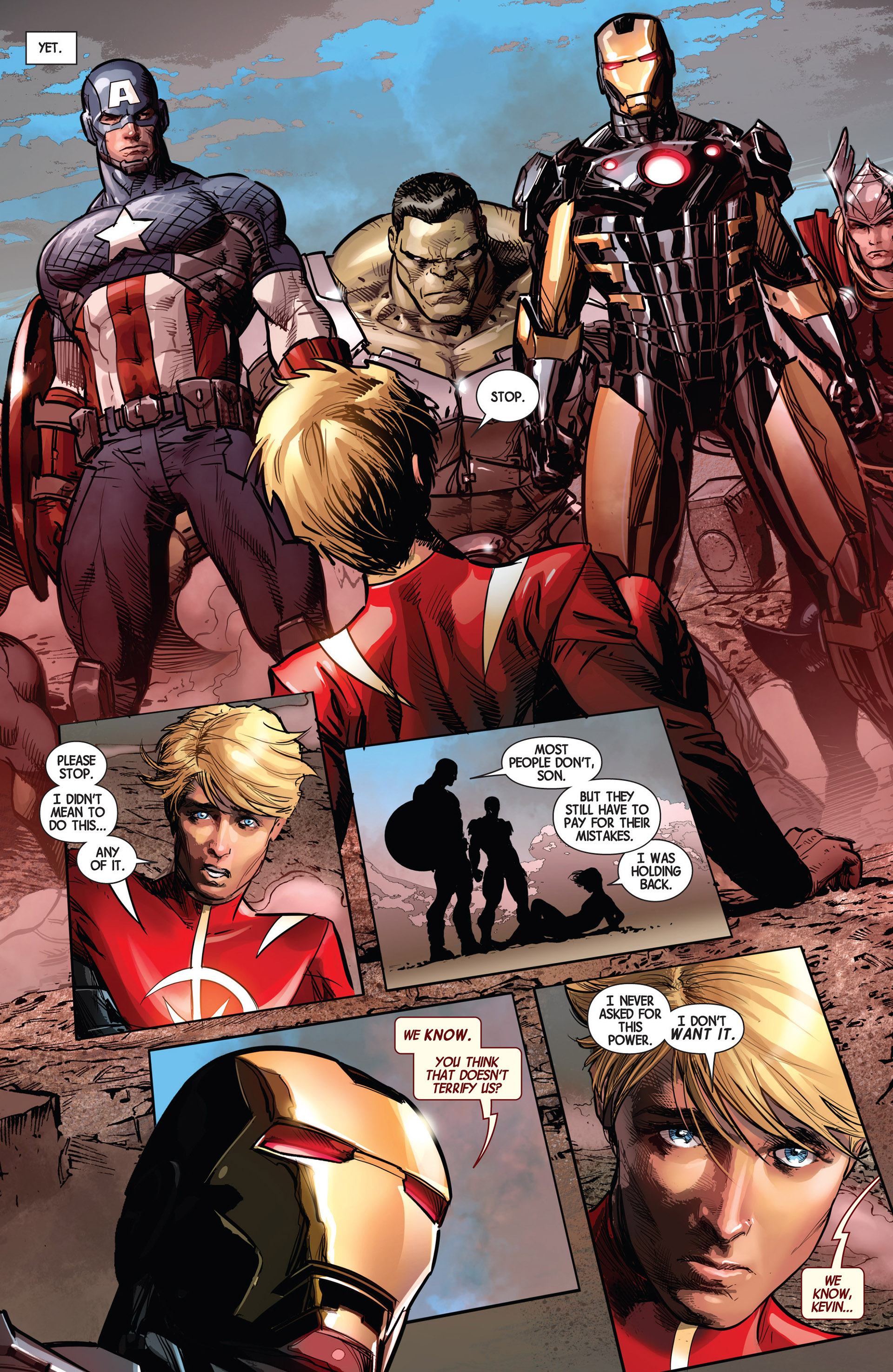 Read online Avengers (2013) comic -  Issue #9 - 23