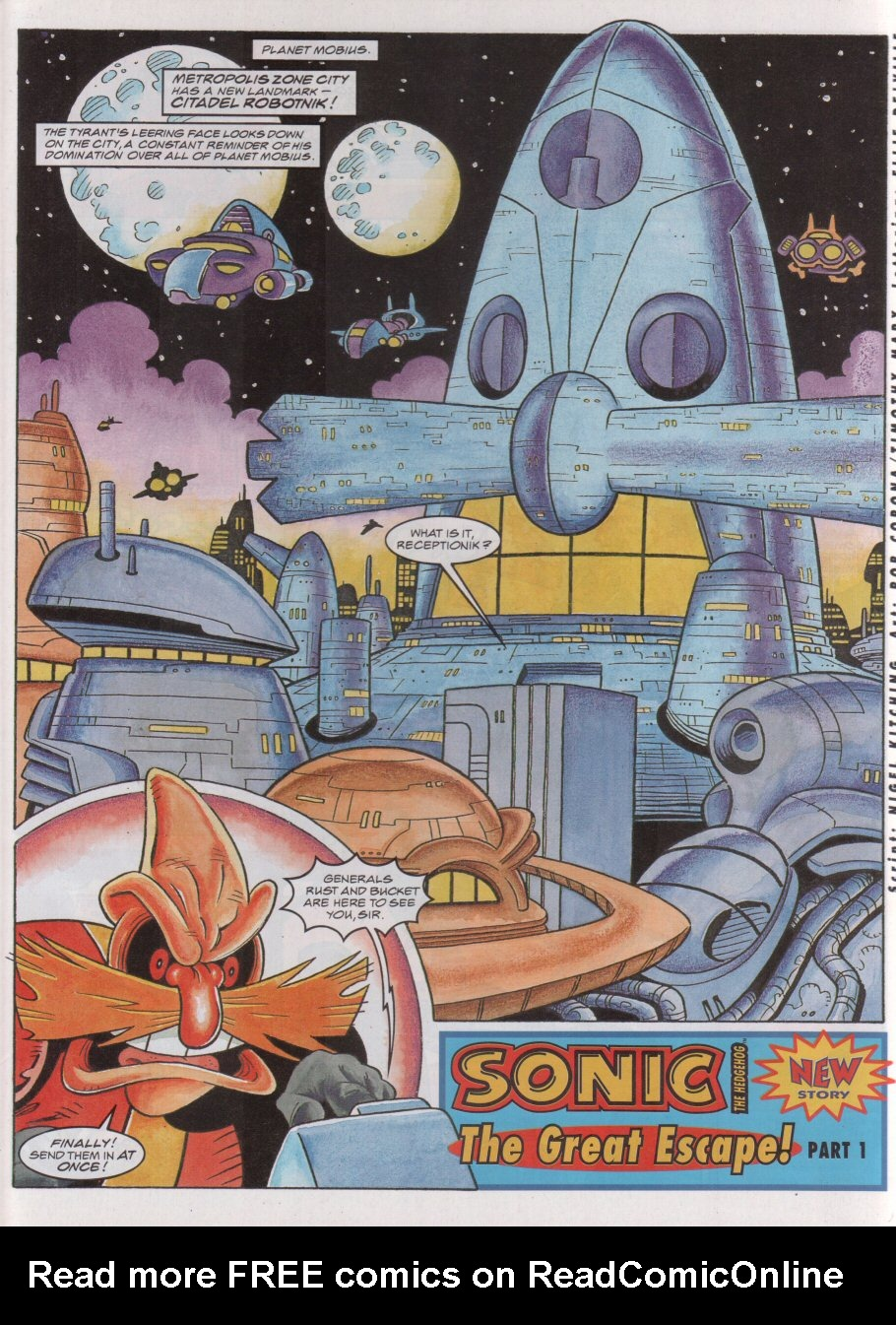 Read online Sonic the Comic comic -  Issue #55 - 3