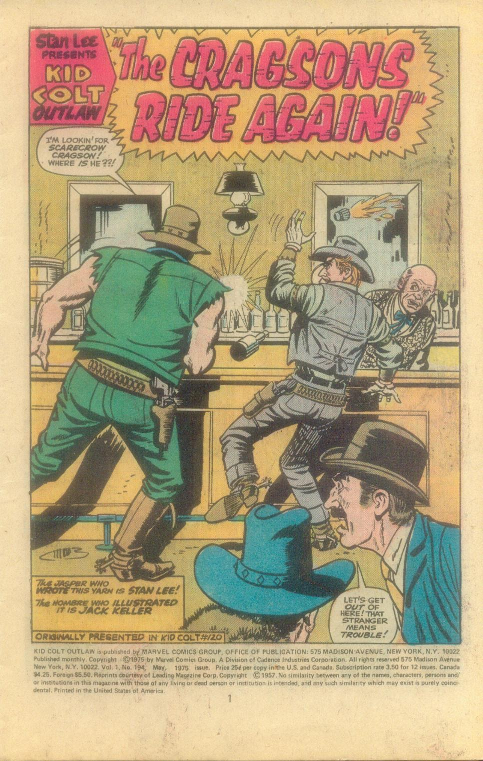 Kid Colt Outlaw issue 194 - Page 3