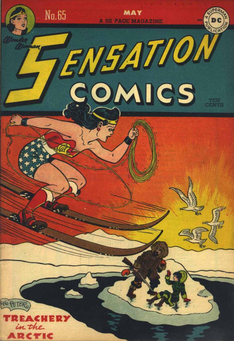 Sensation (Mystery) Comics 65 Page 1
